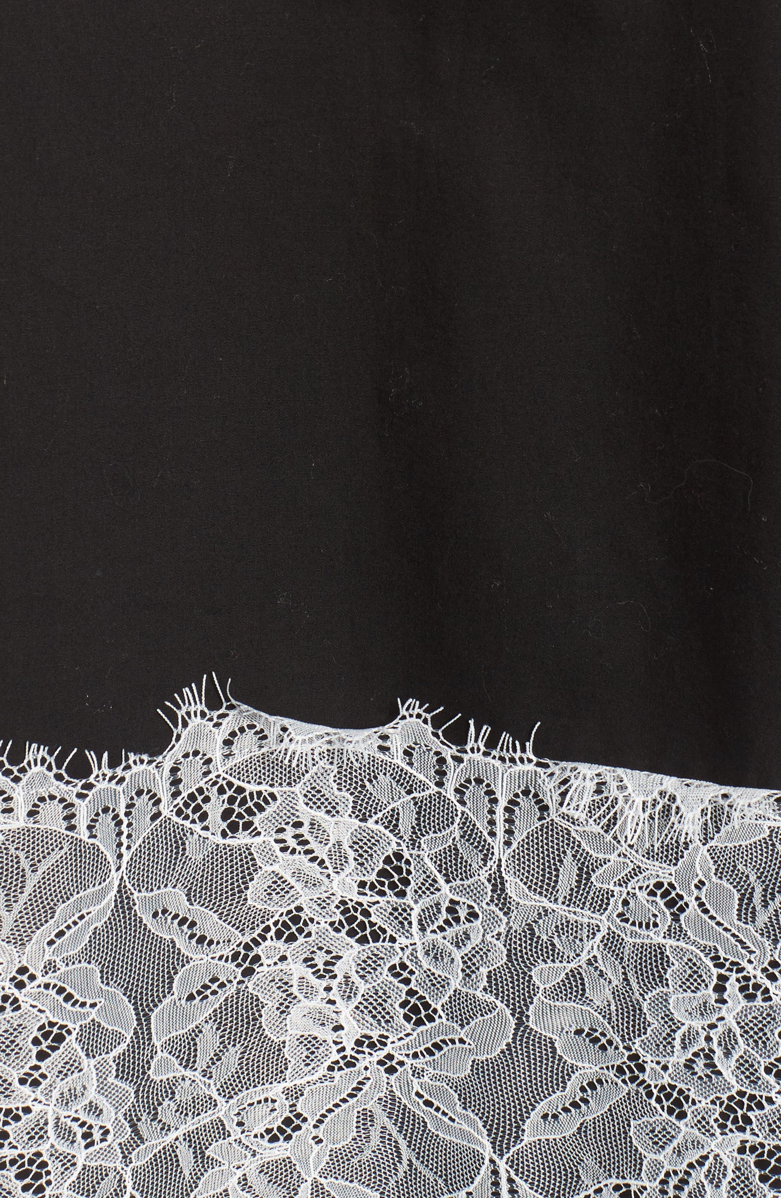 Lace Trim Top,                             Alternate thumbnail 5, color,