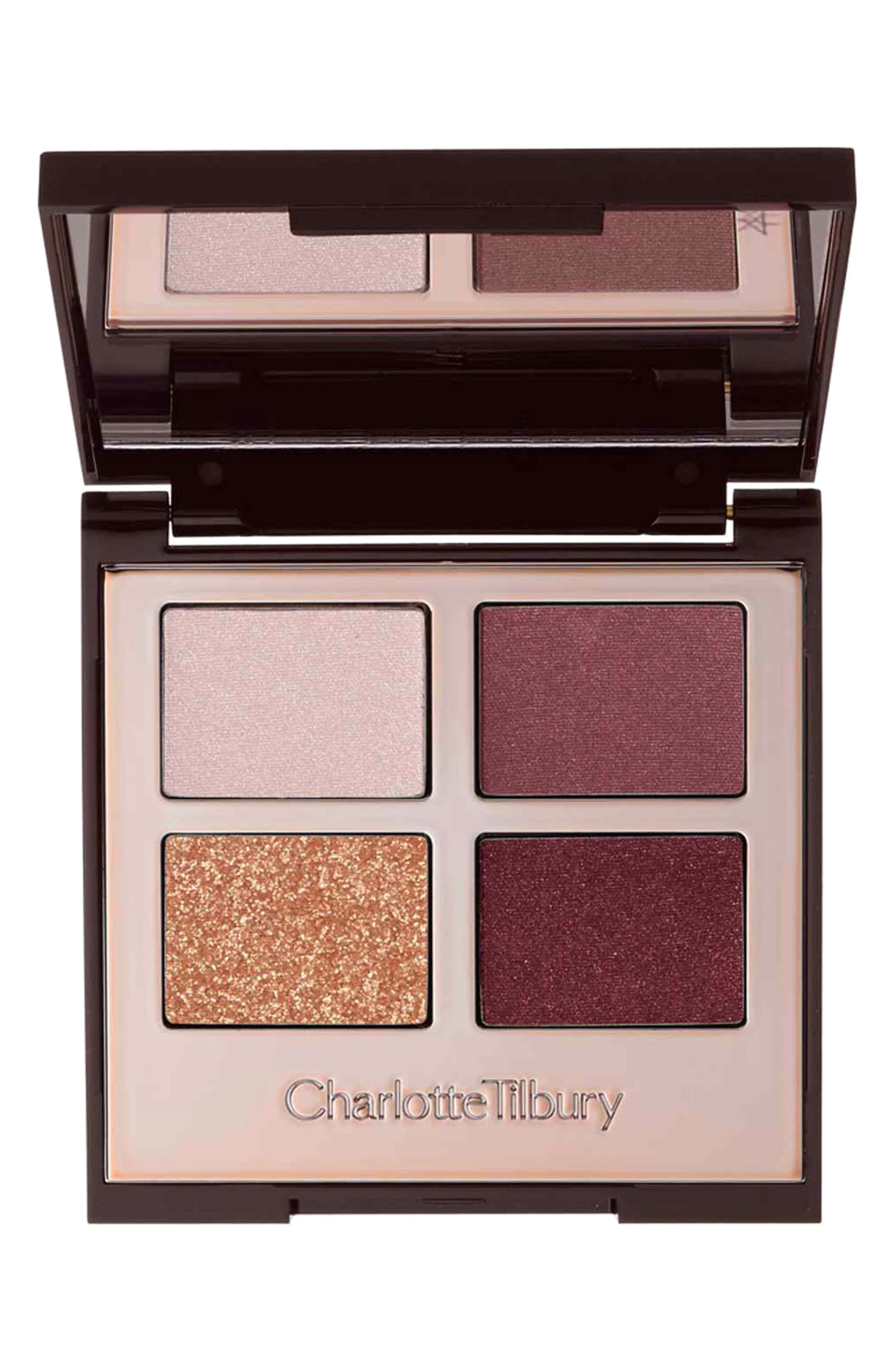 Luxury Palette - The Vintage Vamp Color-Coded Eyeshadow Palette,                         Main,                         color, THE VINTAGE VAMP
