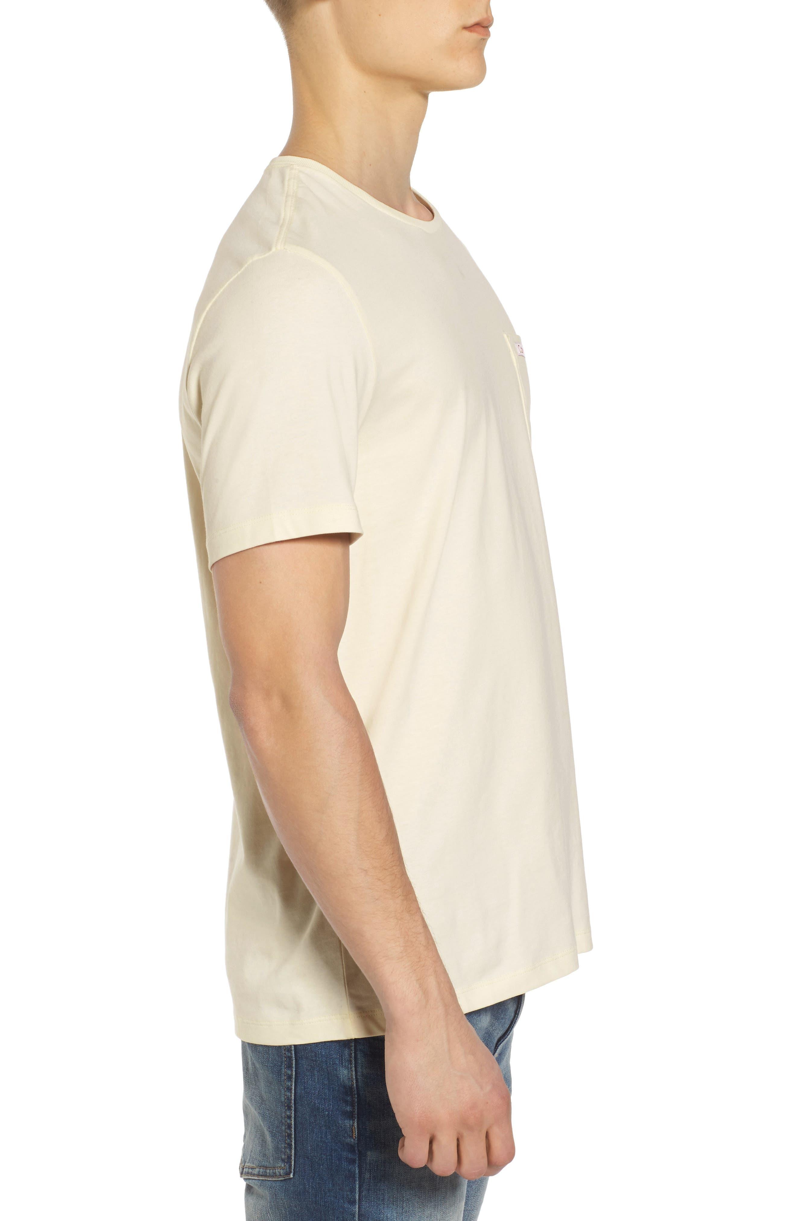 Label Pocket T-Shirt,                             Alternate thumbnail 3, color,
