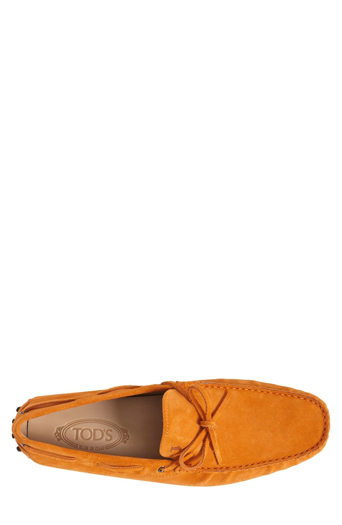 Gommini Tie Front Driving Moccasin,                             Alternate thumbnail 45, color,