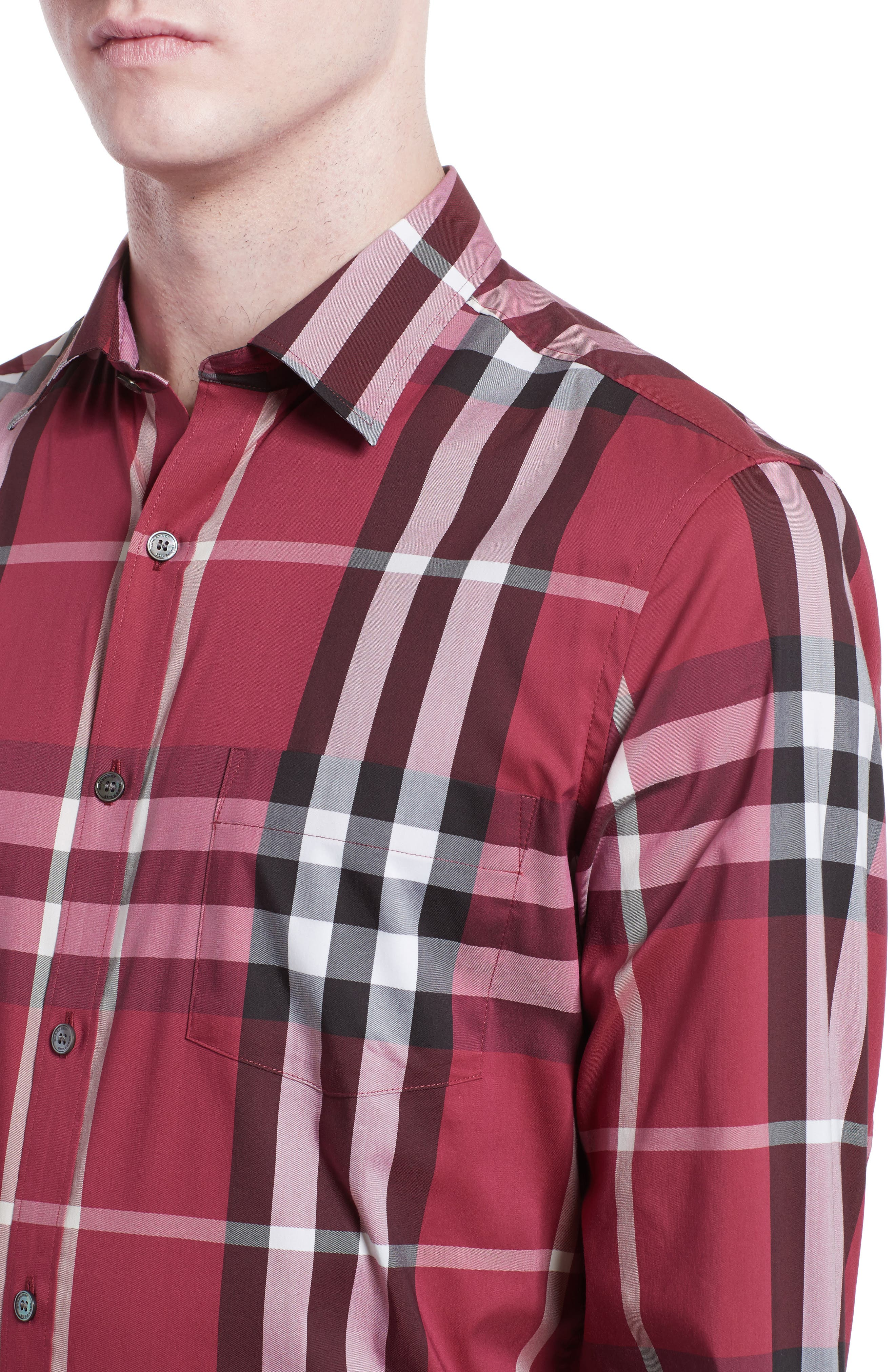 Nelson Check Sport Shirt,                             Alternate thumbnail 94, color,