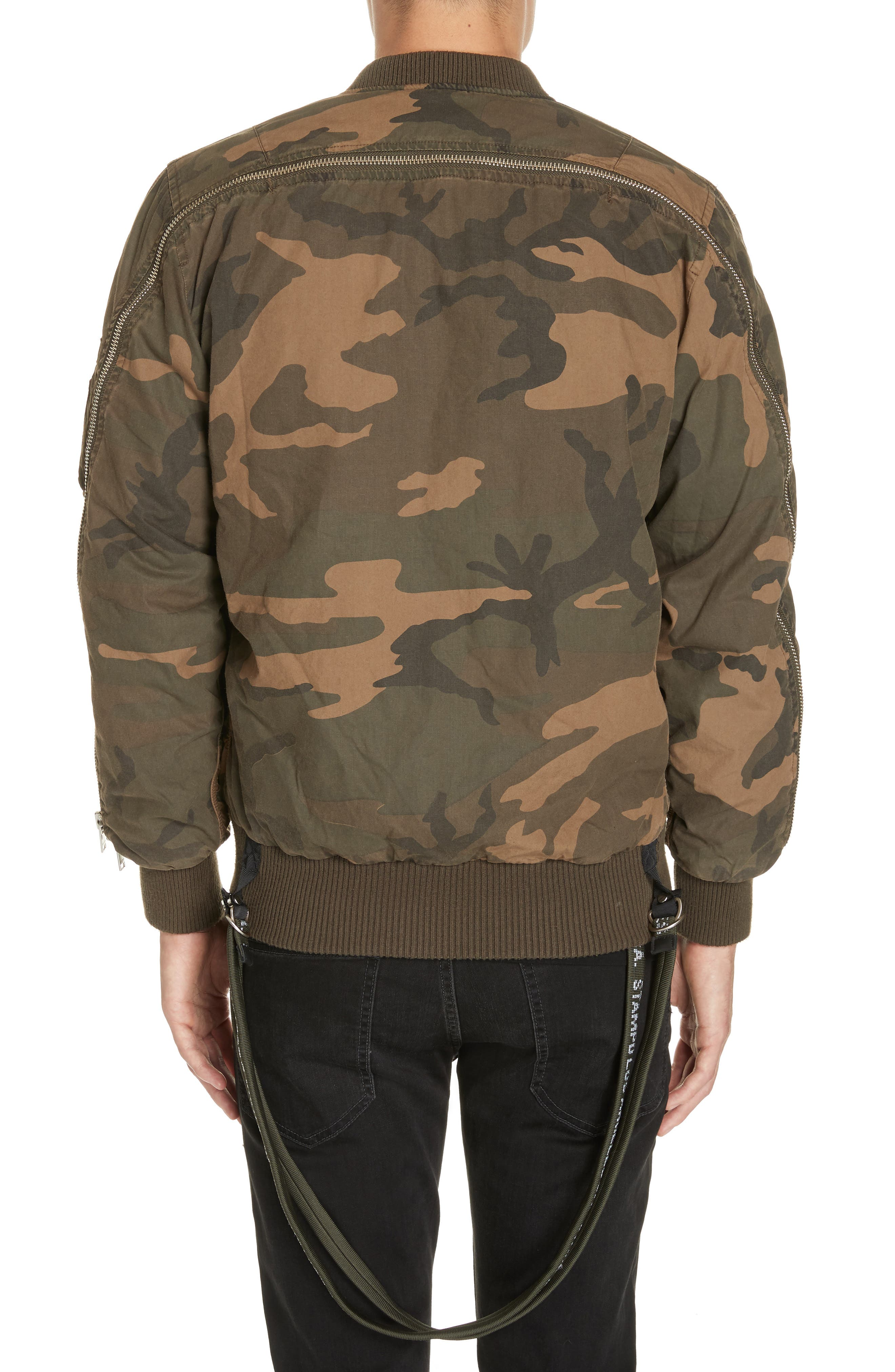 Convoy Strap Bomber Jacket,                             Alternate thumbnail 2, color,                             310