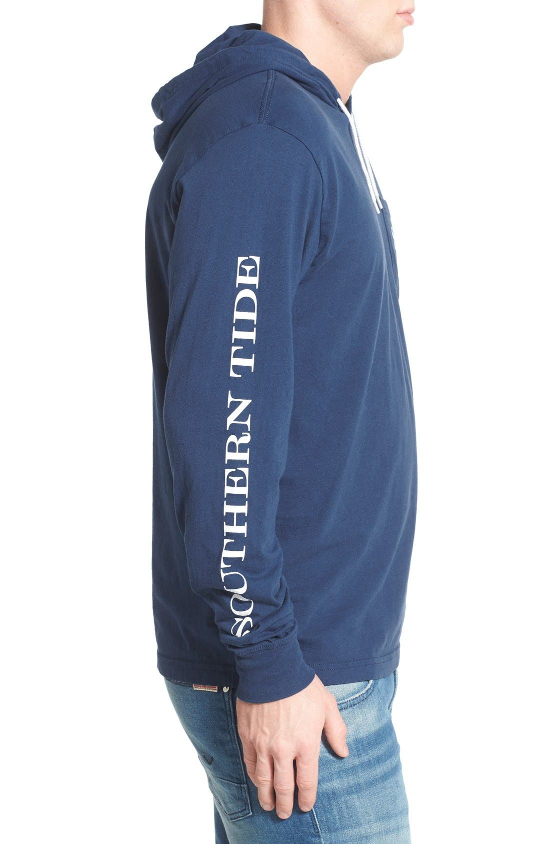 Graphic Hooded Long Sleeve T-Shirt,                             Alternate thumbnail 20, color,