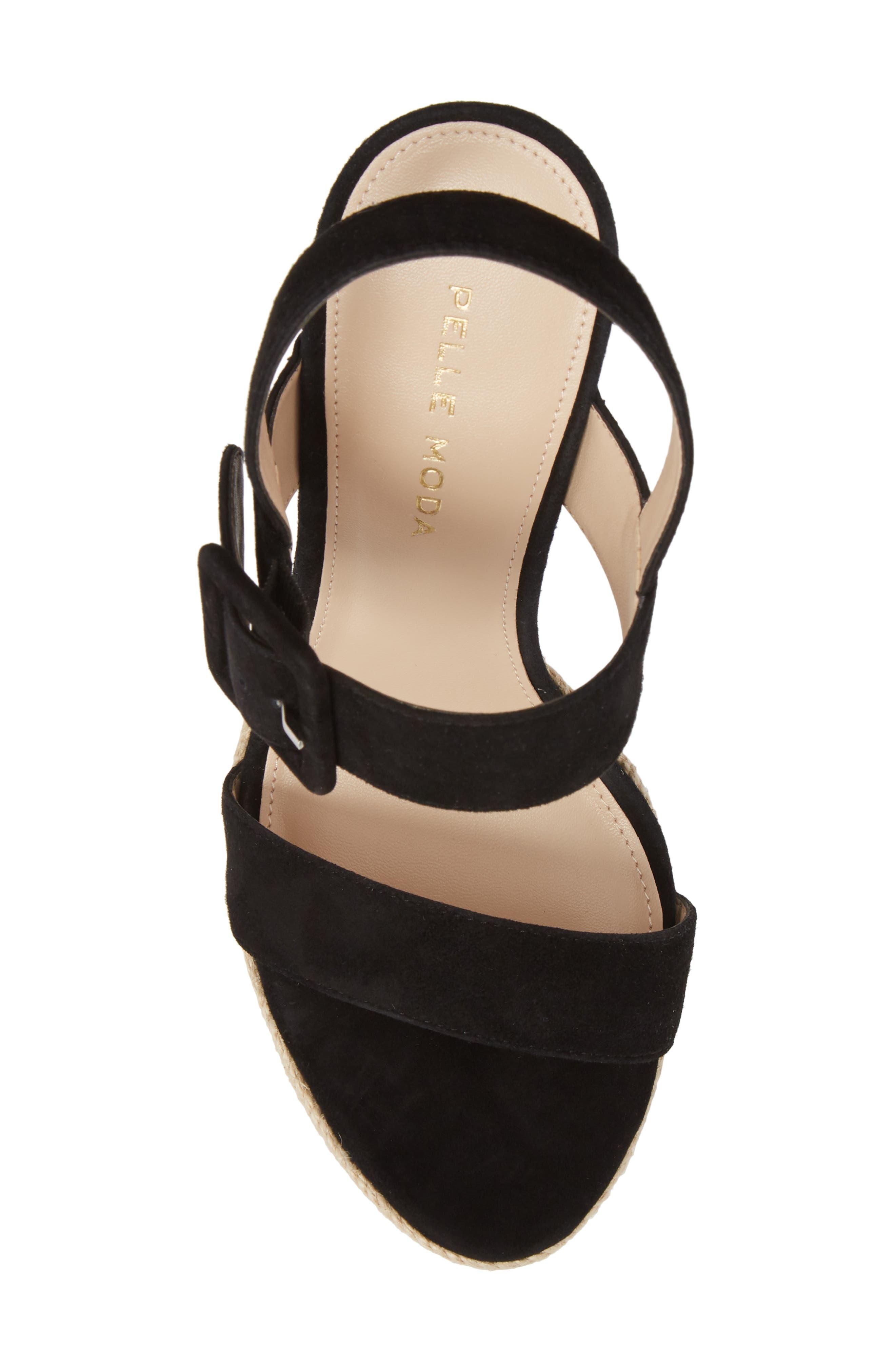 Paloma Platform Sandal,                             Alternate thumbnail 5, color,                             002