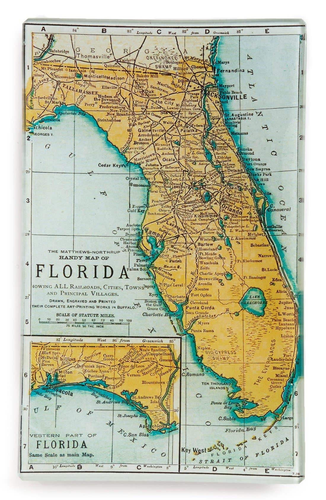 Old Florida Maps.Ben S Garden Old Florida Map Trinket Tray Nordstrom