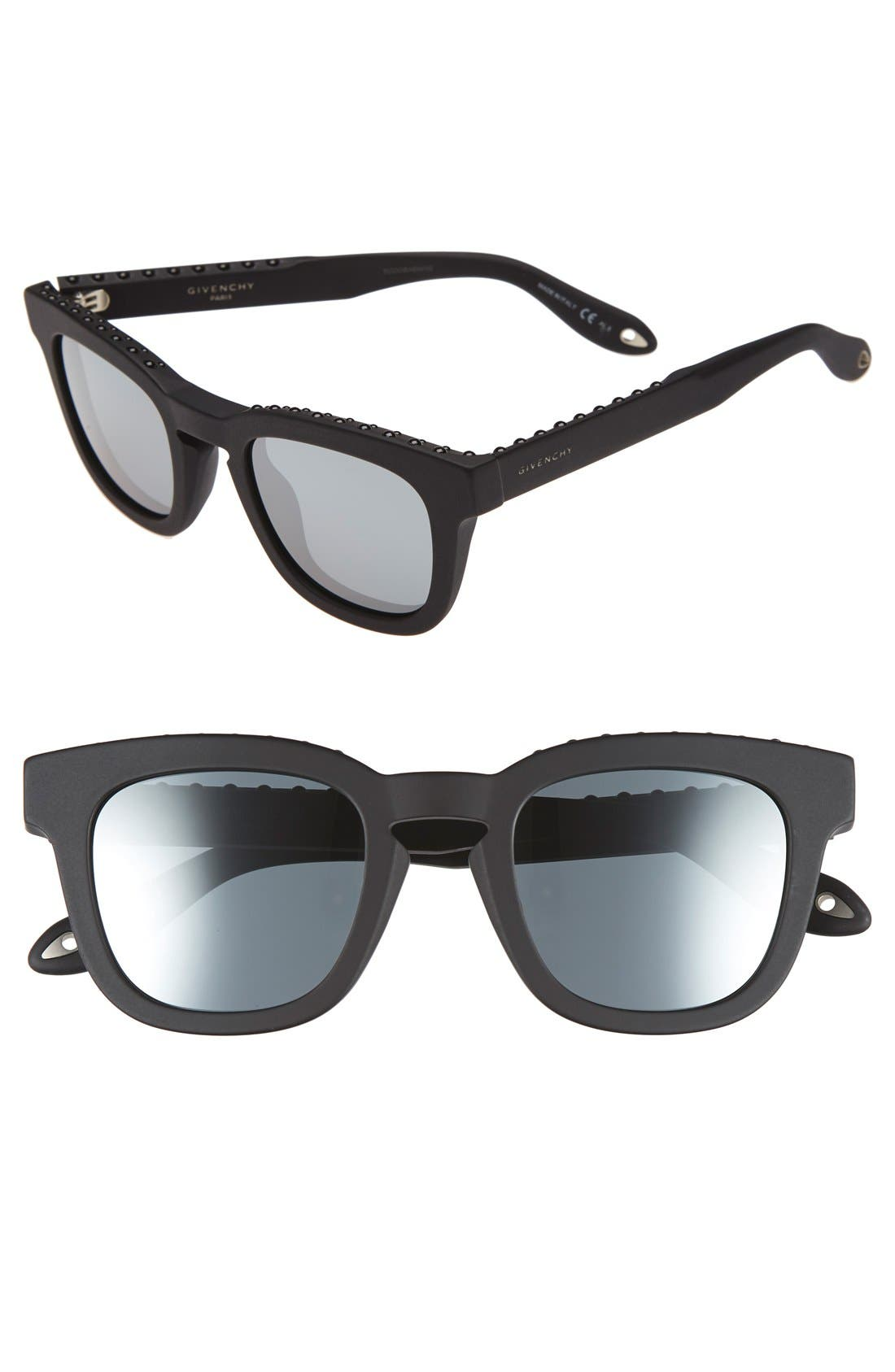 48mm Sunglasses,                             Main thumbnail 1, color,                             001