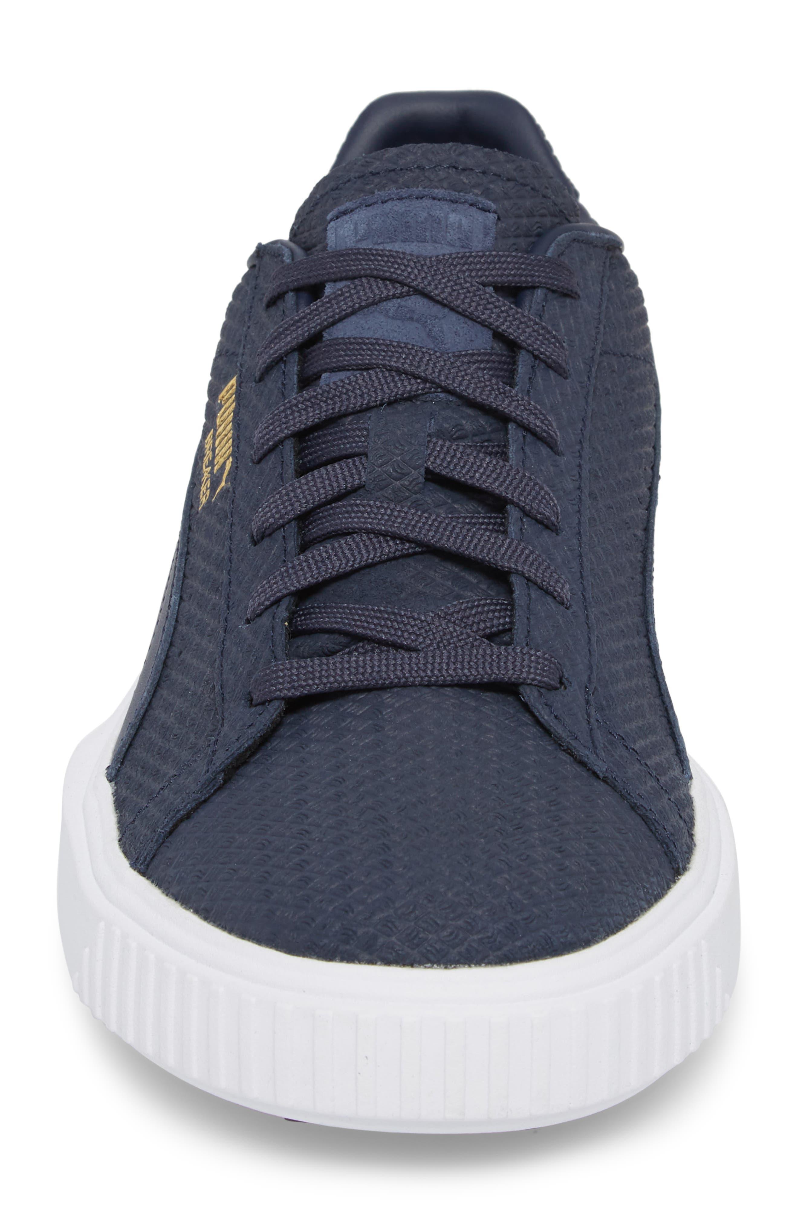 Breaker Suede Sneaker,                             Alternate thumbnail 4, color,                             400