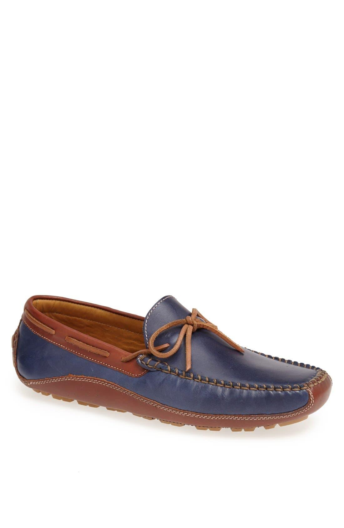 'Drake' Leather Driving Shoe,                             Main thumbnail 10, color,