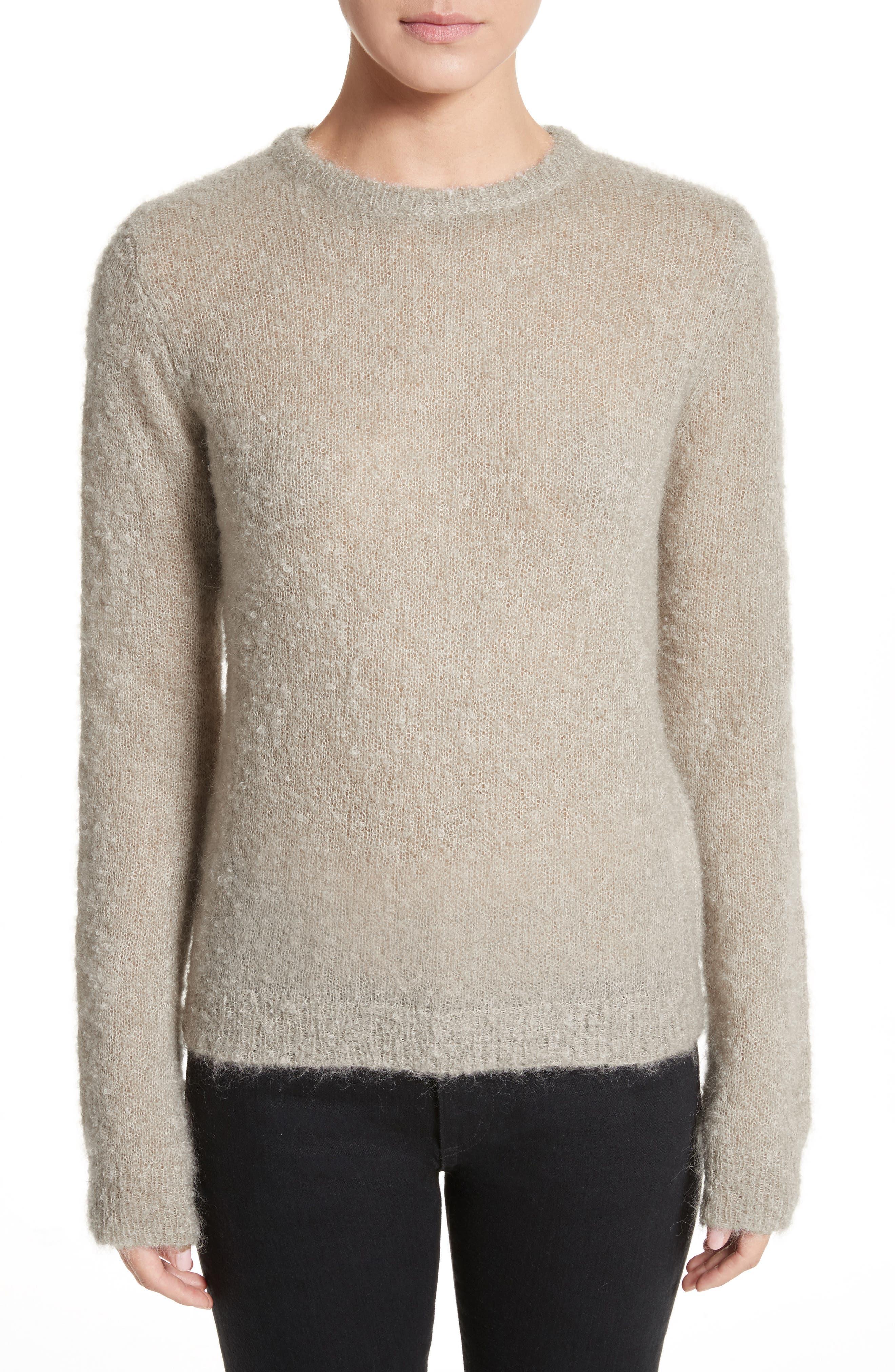Tatum Mohair & Silk Sweater,                         Main,                         color, 020