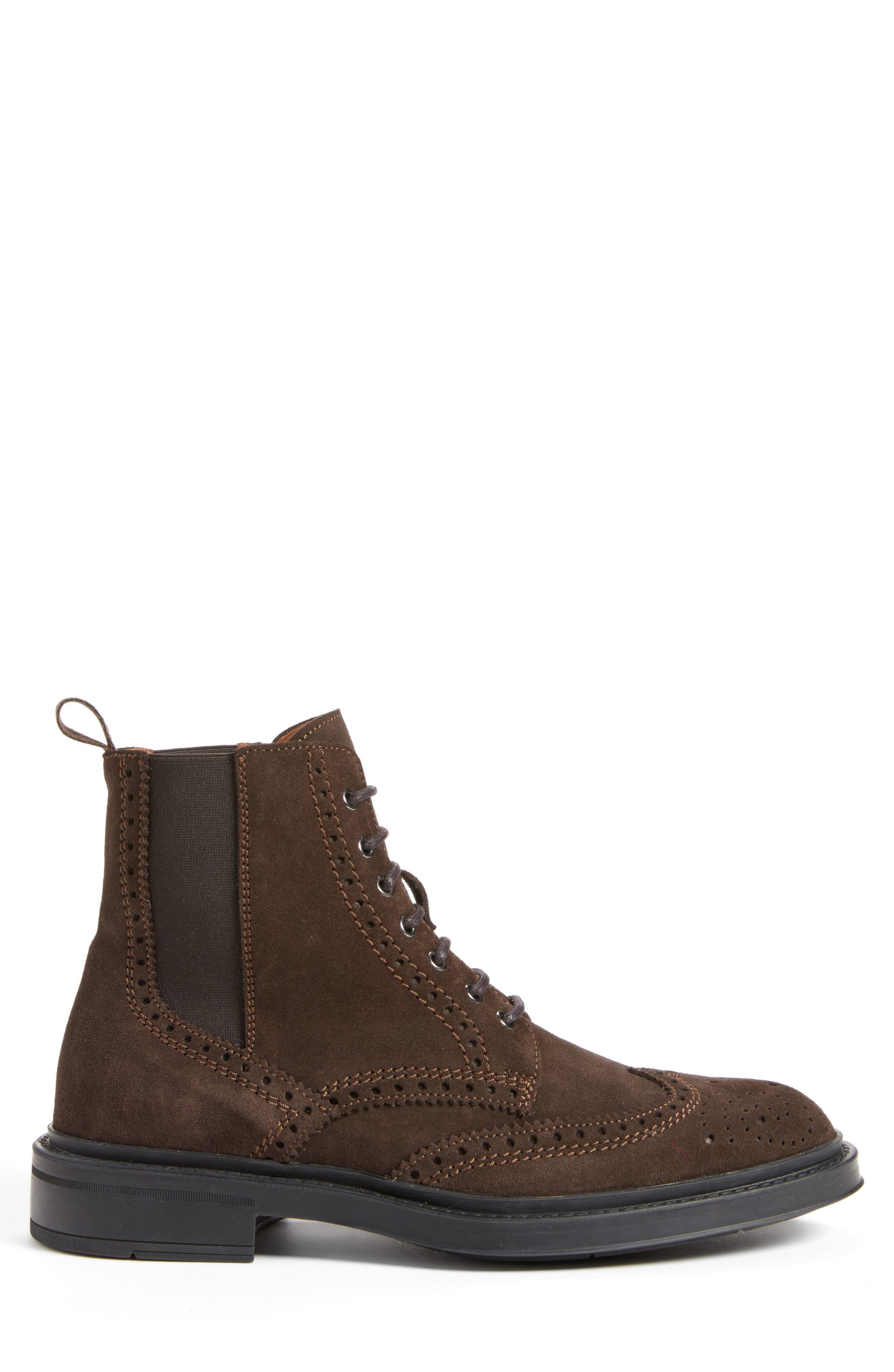 Lawrence Wingtip Boot,                             Alternate thumbnail 3, color,                             201
