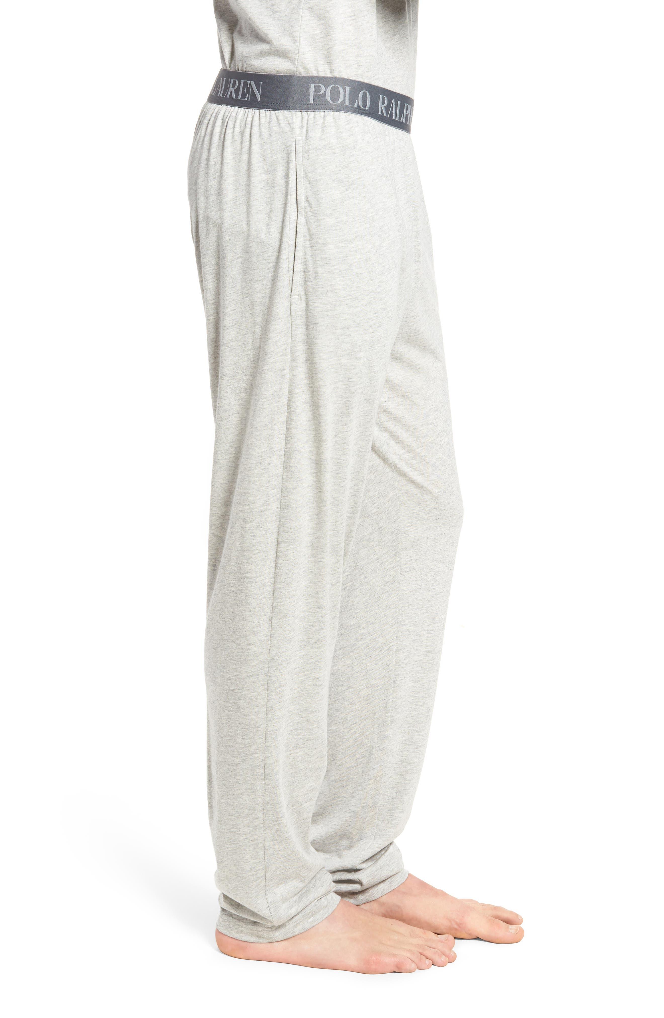 Cotton & Modal Lounge Pants,                             Alternate thumbnail 7, color,