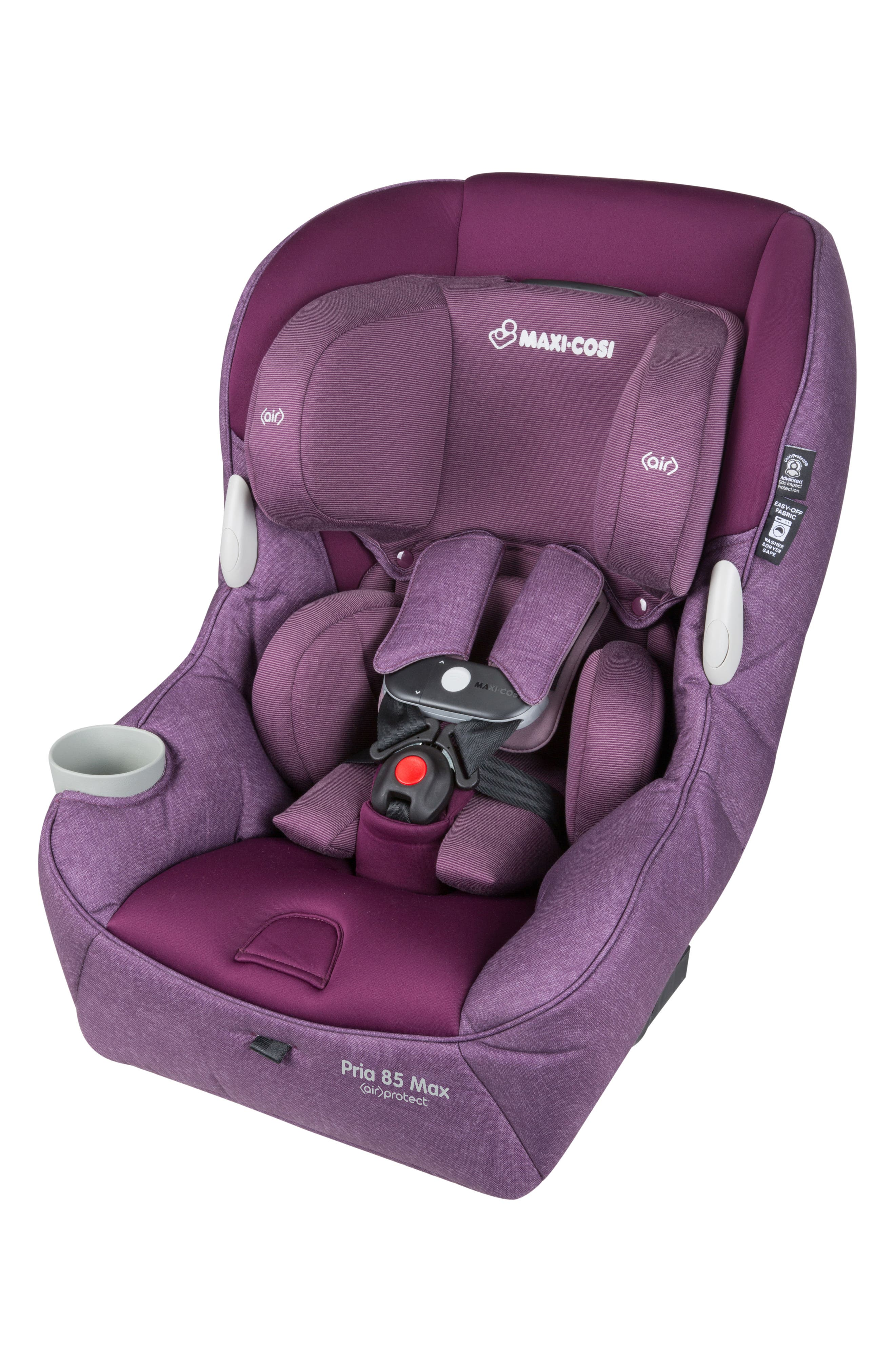 Pria<sup>™</sup> 85 Max Nomad Collection Convertible Car Seat,                             Alternate thumbnail 9, color,                             NOMAD PURPLE