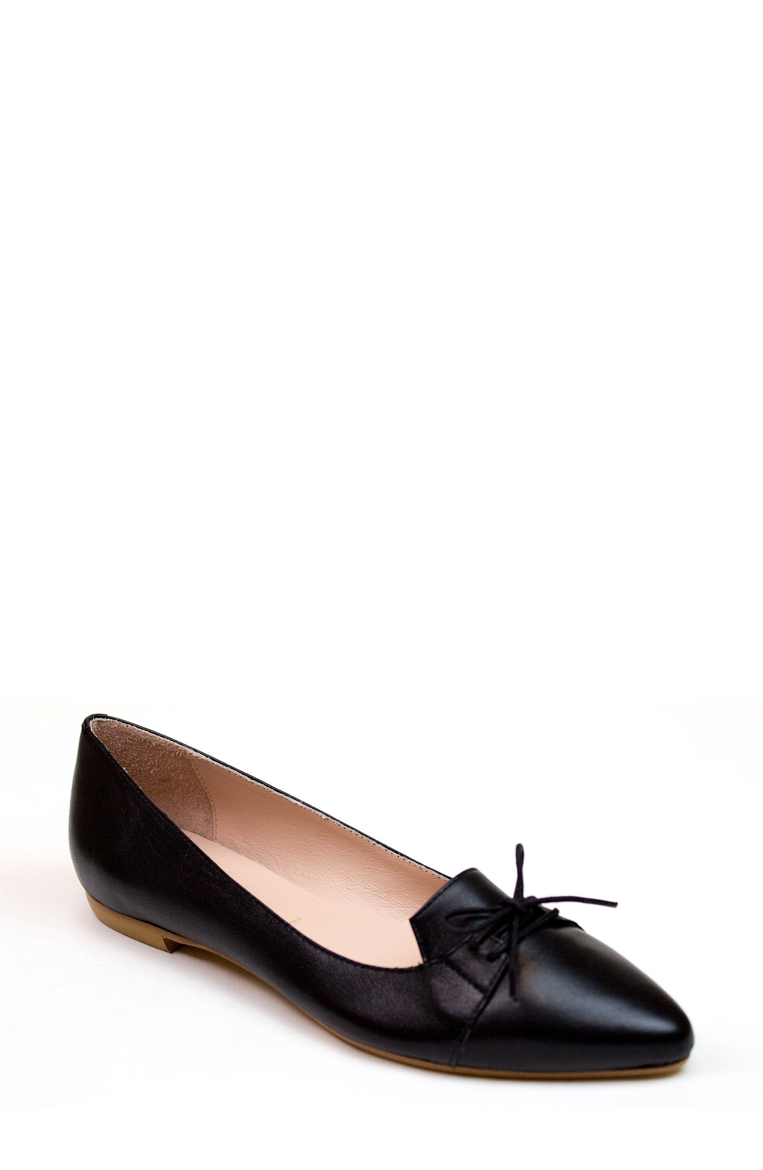Katerine Bow Flat,                         Main,                         color, 001