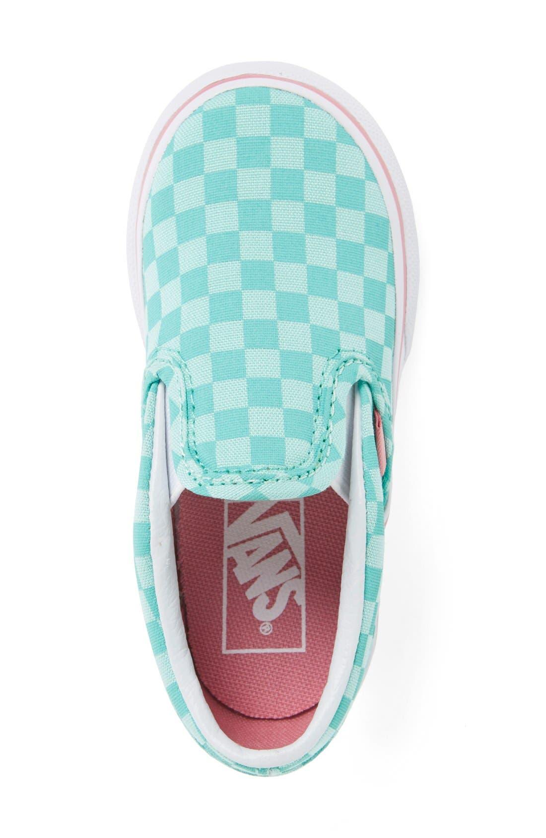 VANS,                             Classic Slip-On Sneaker,                             Alternate thumbnail 4, color,                             300