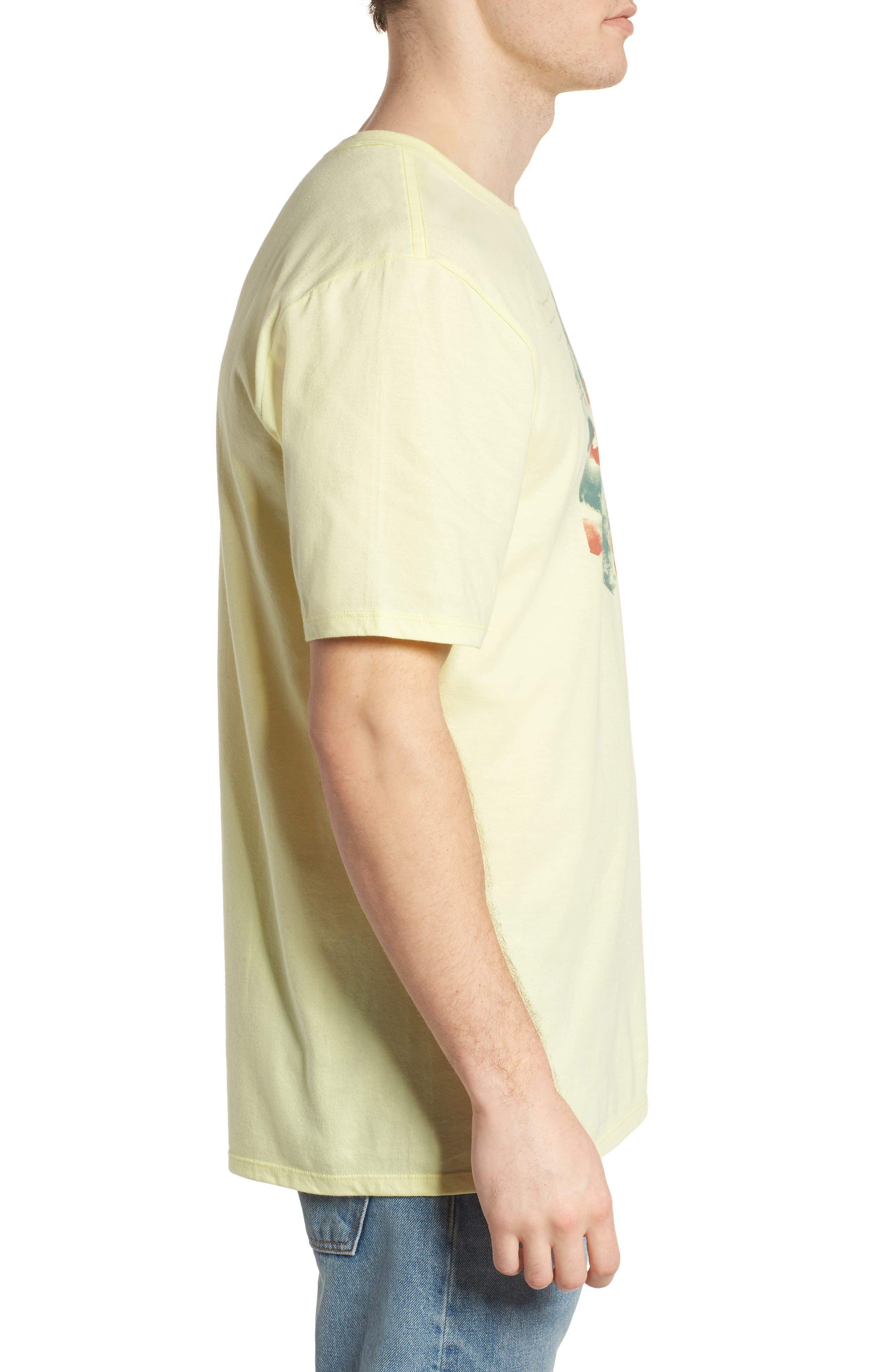 Watercolor T-Shirt,                             Alternate thumbnail 3, color,                             821