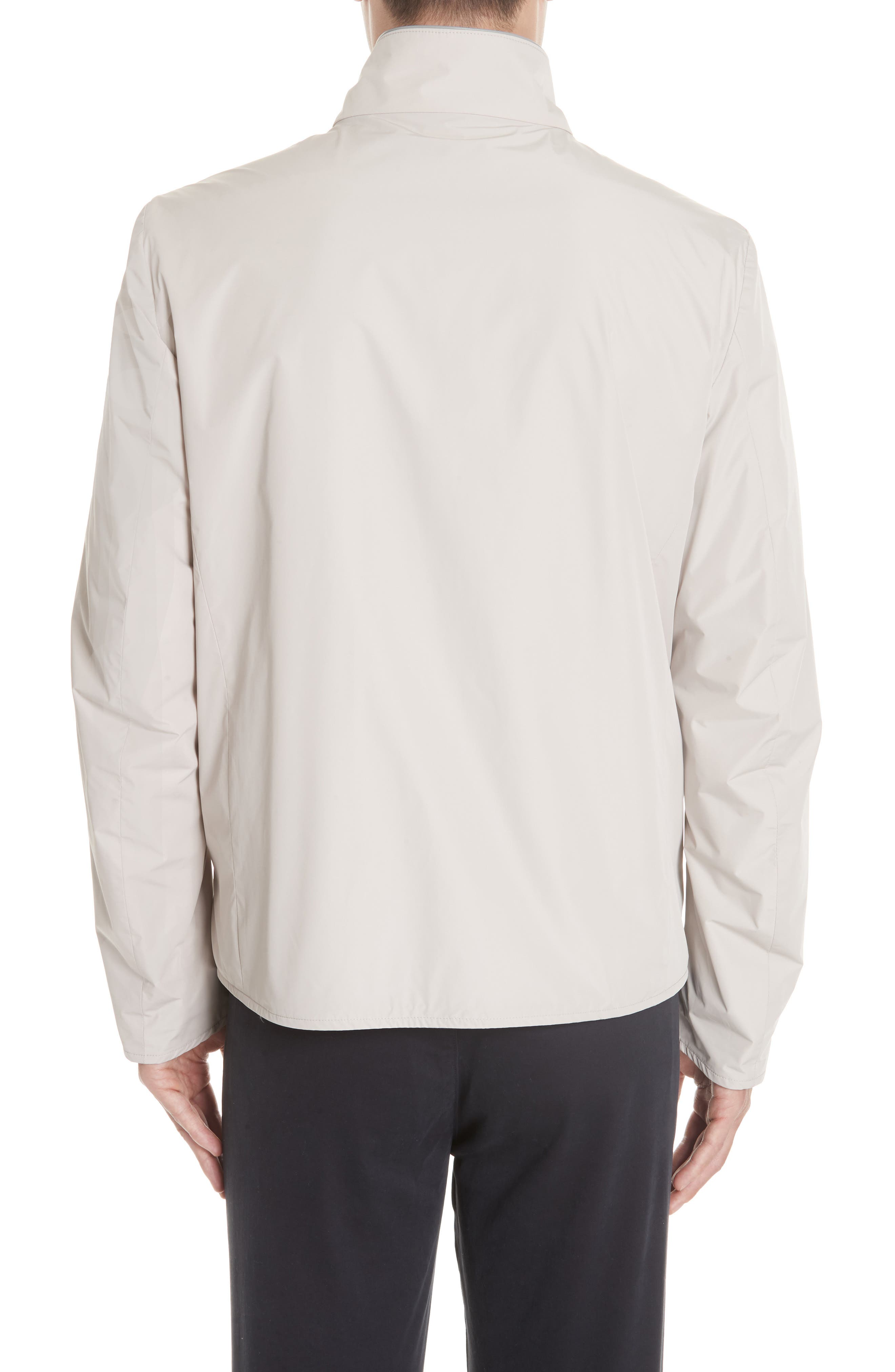 Regular Fit Cotton Jacket,                             Alternate thumbnail 3, color,