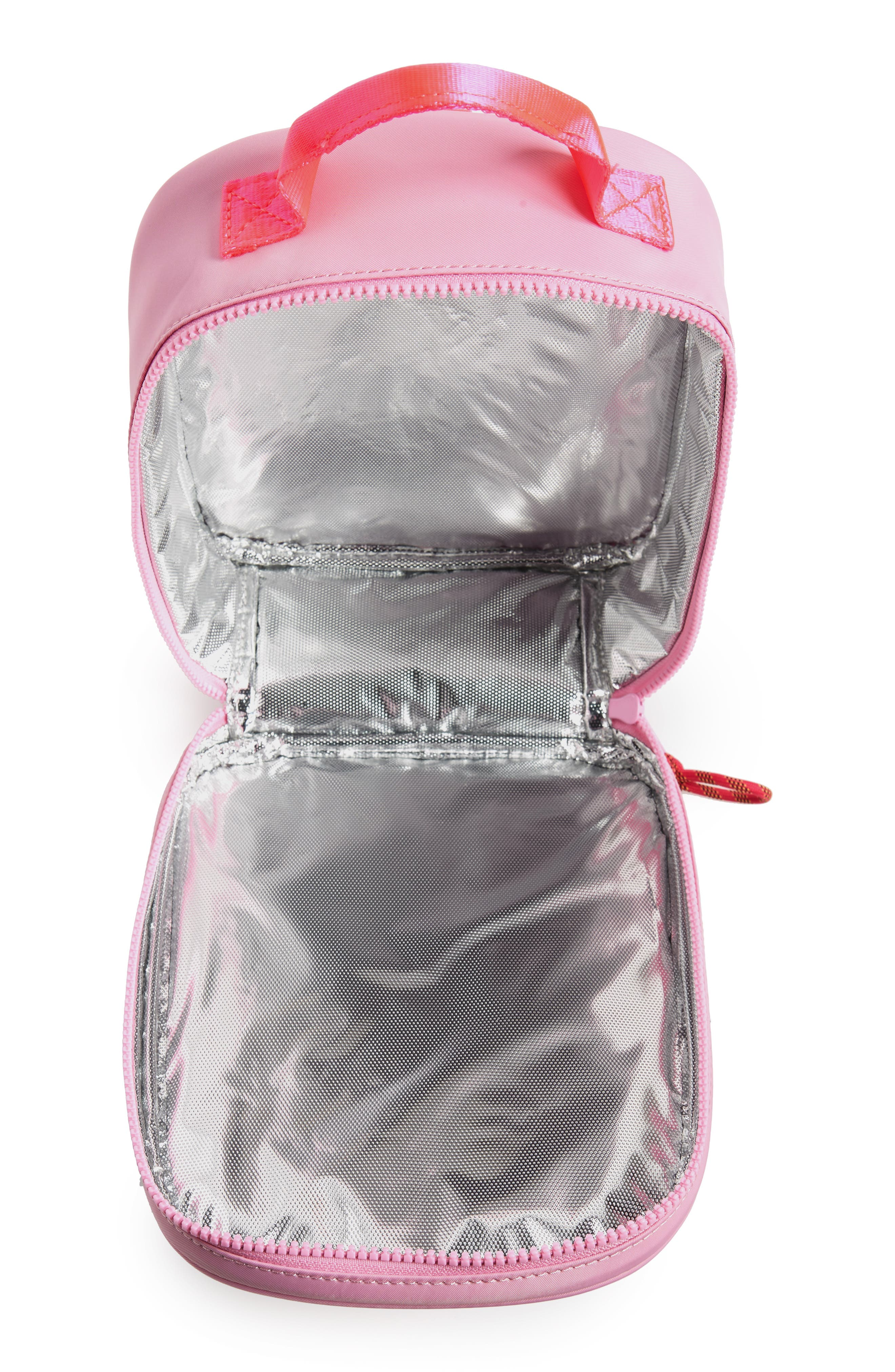 Peekaboo Cat Insulated Lunch Box,                             Alternate thumbnail 3, color,                             650