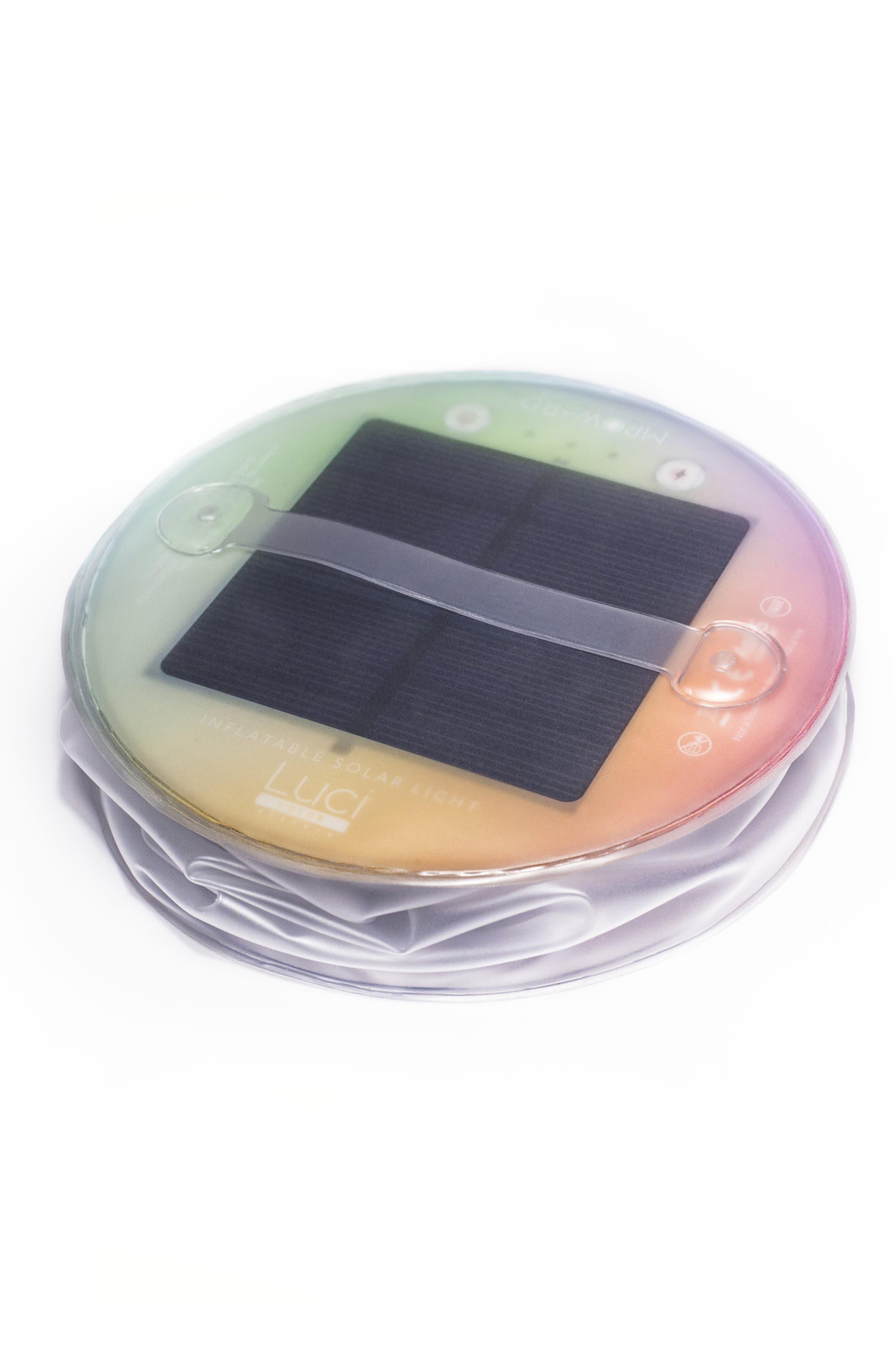 x Soda Luci Color Essence Inflatable Solar Lantern,                             Alternate thumbnail 4, color,                             NONE