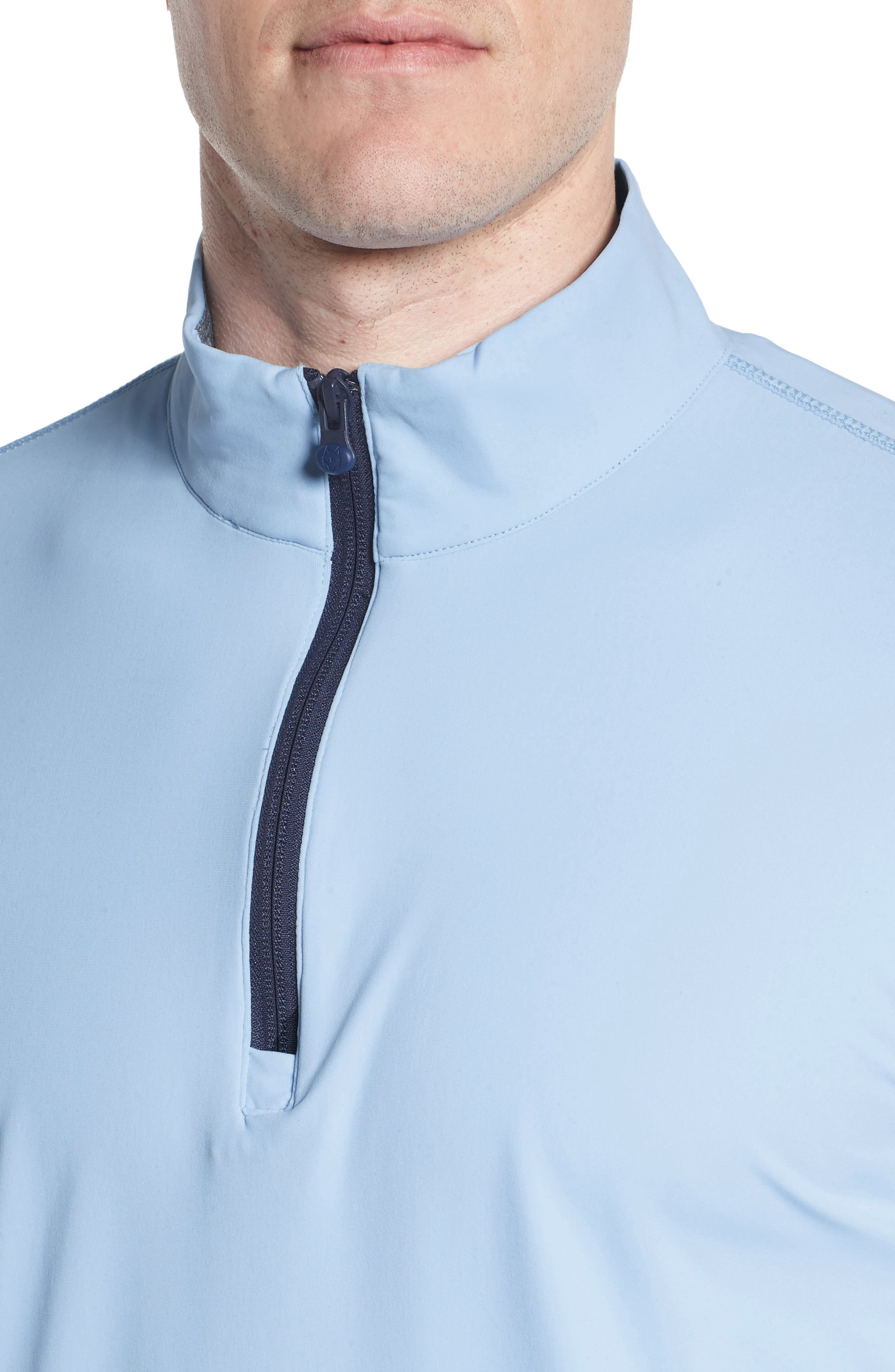 Tate Quarter Zip Pullover,                             Alternate thumbnail 4, color,                             WOLF