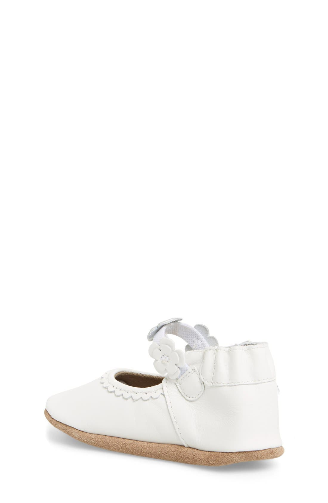 'Claire' Mary Jane Crib Shoe,                             Alternate thumbnail 2, color,                             100