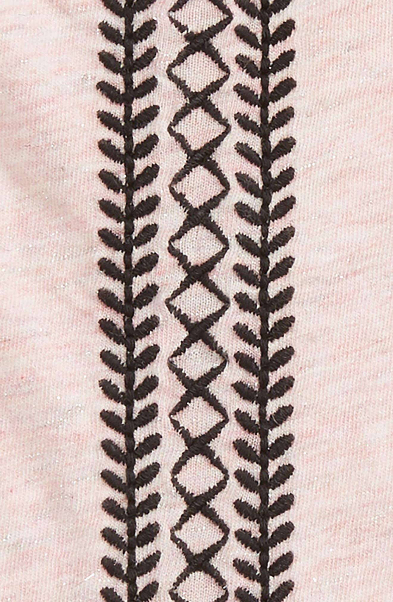 Embroidered Sparkle Tee,                             Alternate thumbnail 2, color,                             660