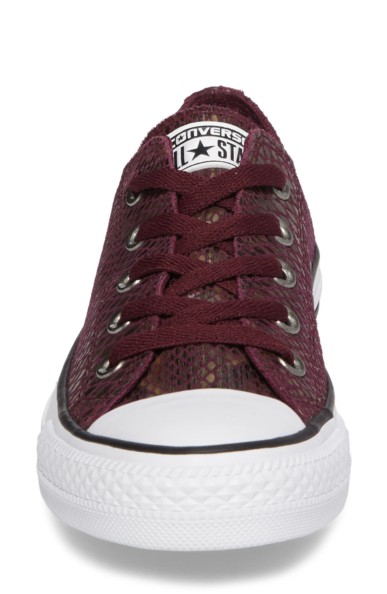 Chuck Taylor<sup>®</sup> All Star<sup>®</sup> Ox Leather Sneaker,                             Alternate thumbnail 8, color,