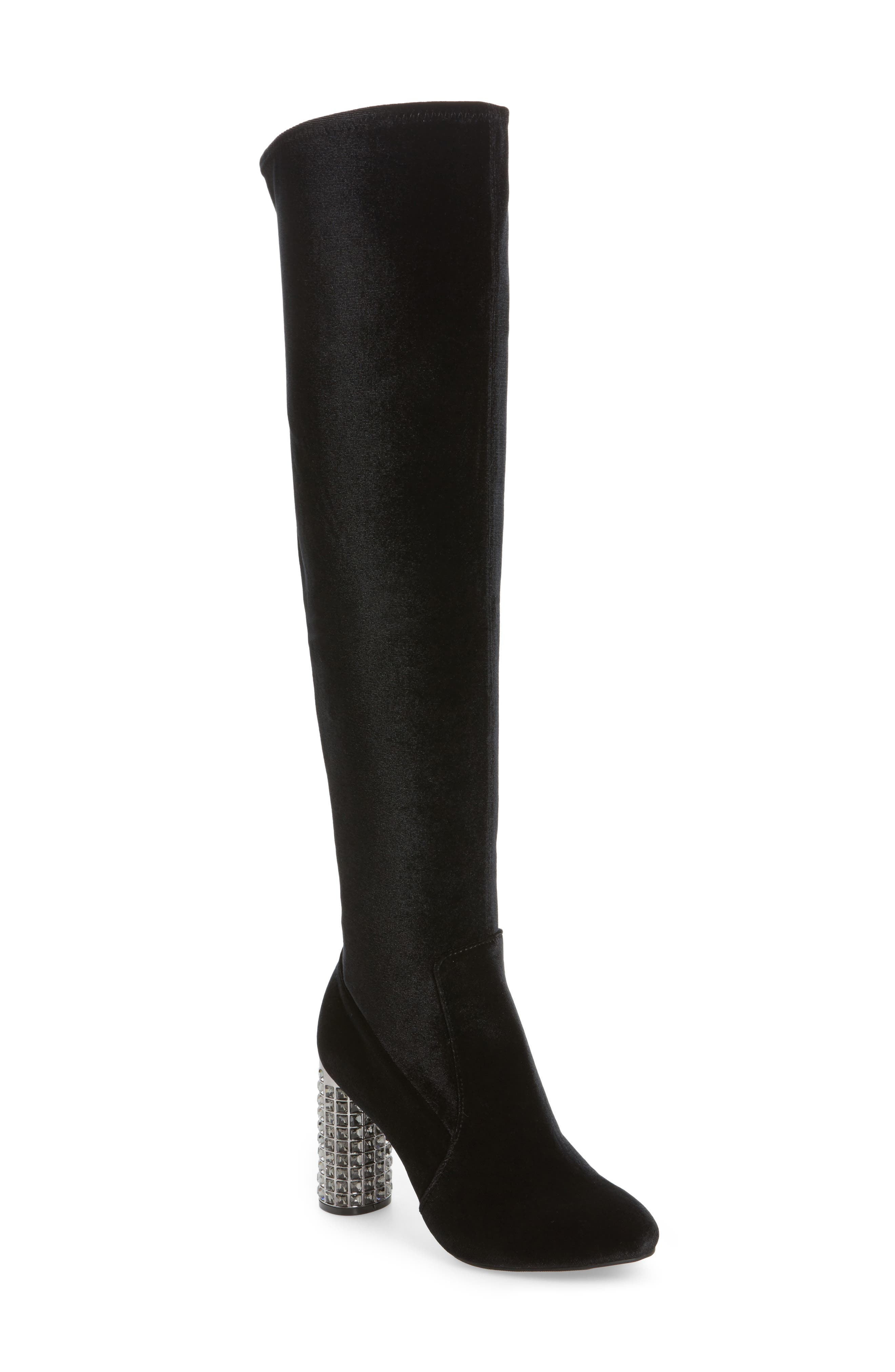 Itzela Over the Knee Boot,                             Main thumbnail 1, color,                             003
