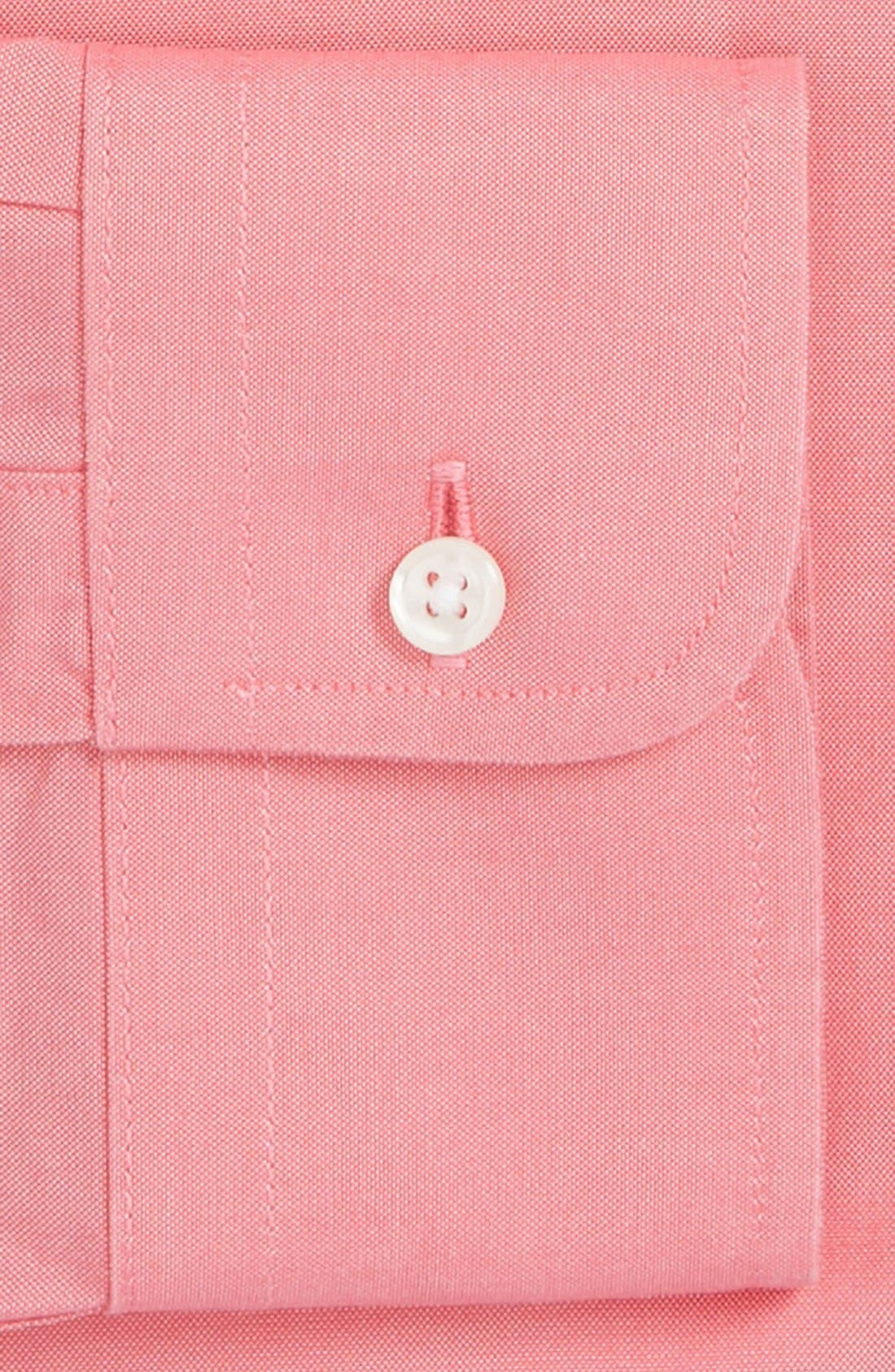 Smartcare<sup>™</sup> Traditional Fit Pinpoint Dress Shirt,                             Alternate thumbnail 64, color,