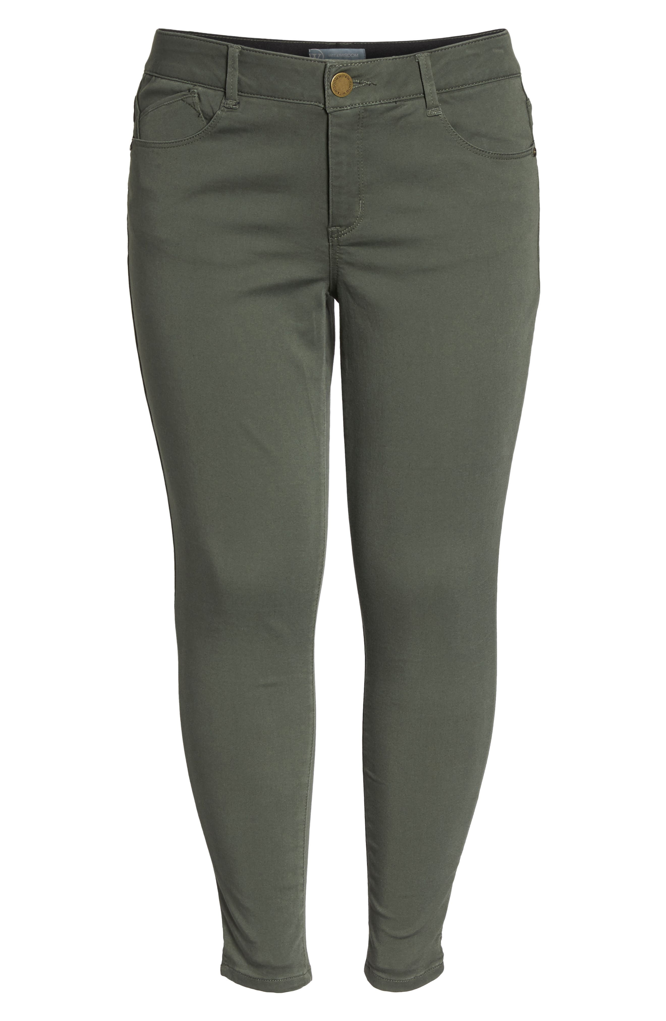 Ab-solution Ankle Pants,                             Alternate thumbnail 7, color,                             THYME