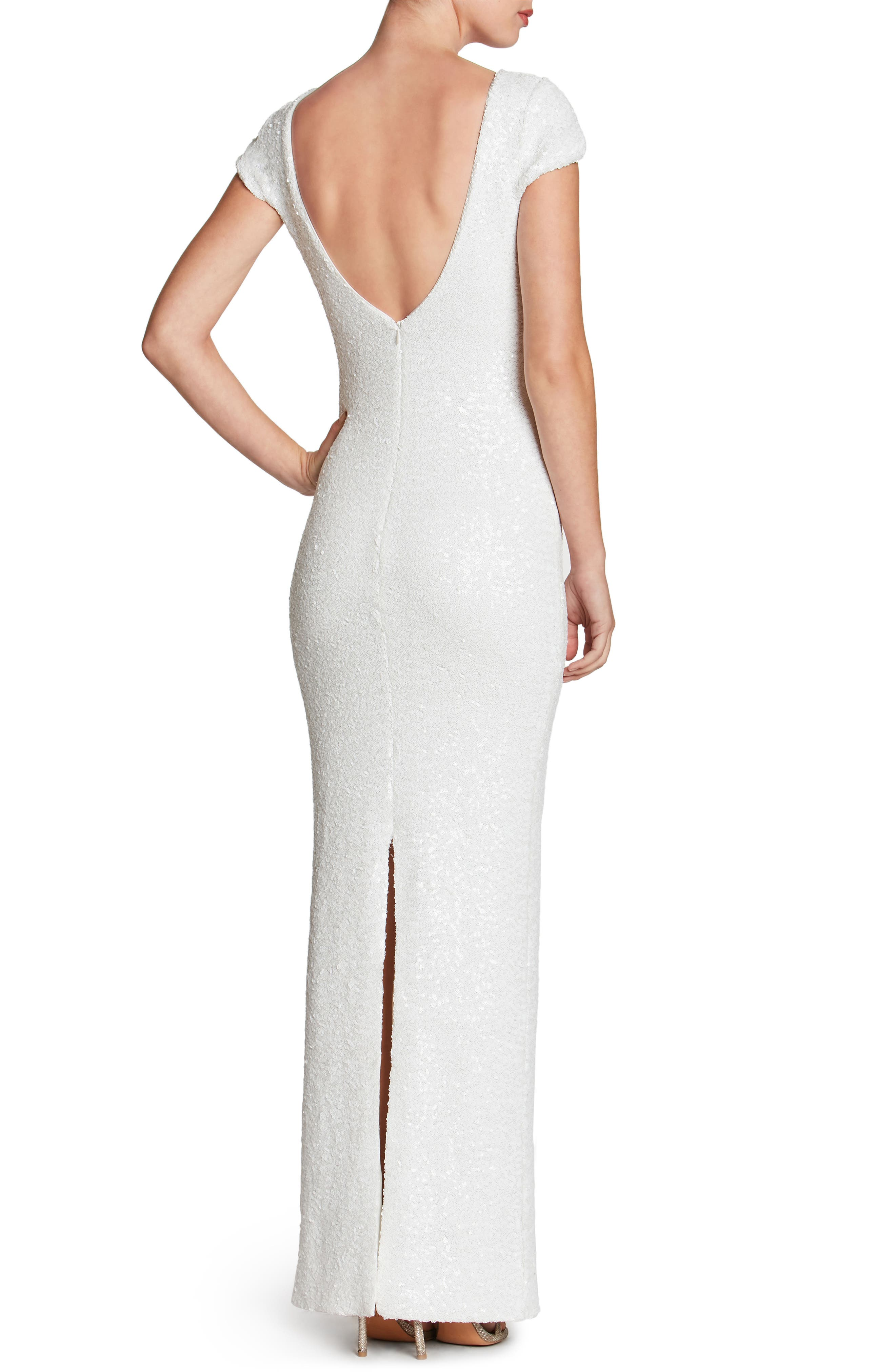 Teresa Body-Con Gown,                             Alternate thumbnail 13, color,