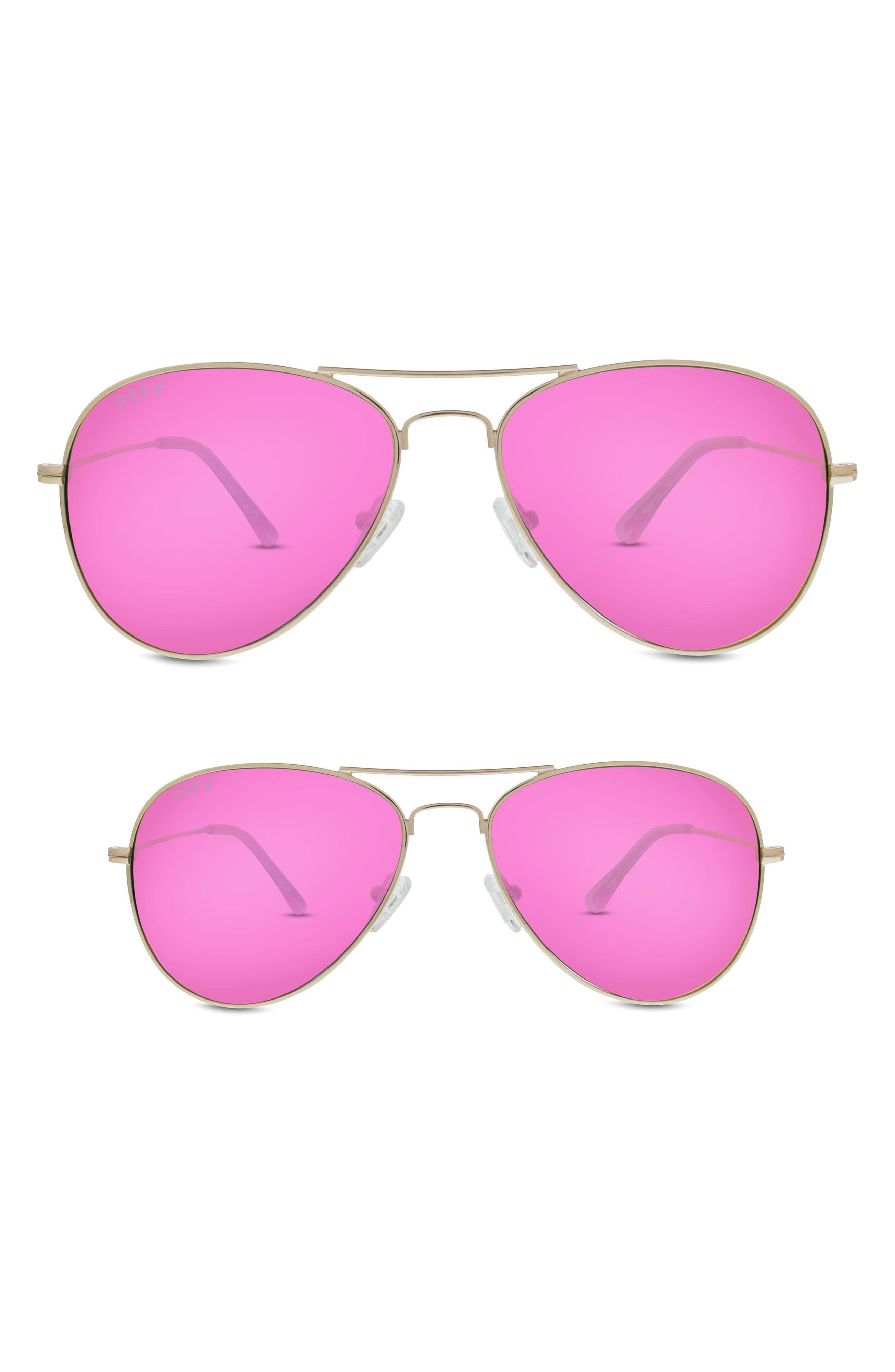 Mommy & Me Cruz 2-Pack Aviator Sunglasses,                             Alternate thumbnail 2, color,                             710