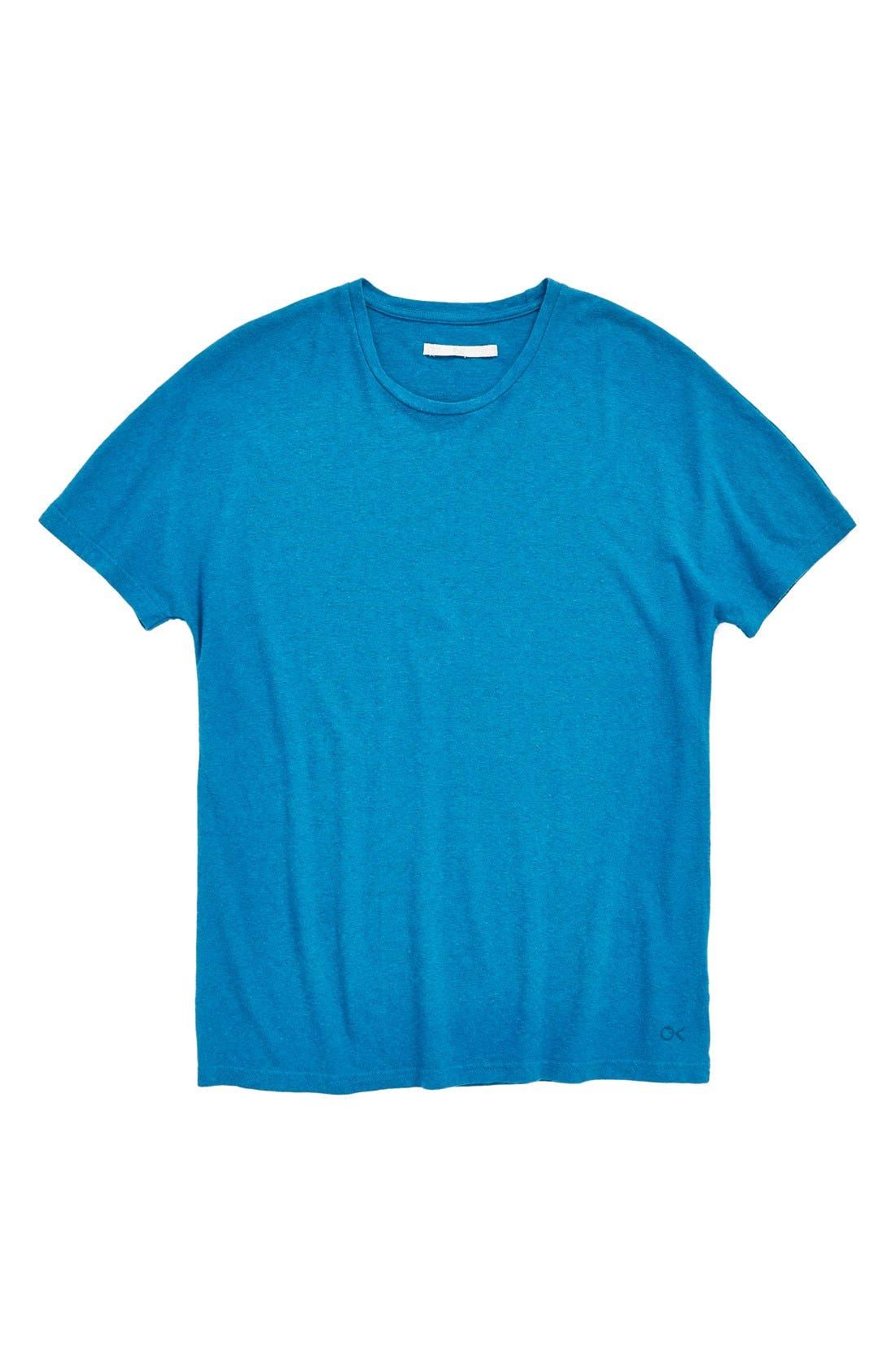 'Outerknown' Crewneck T-Shirt, Main, color, 420