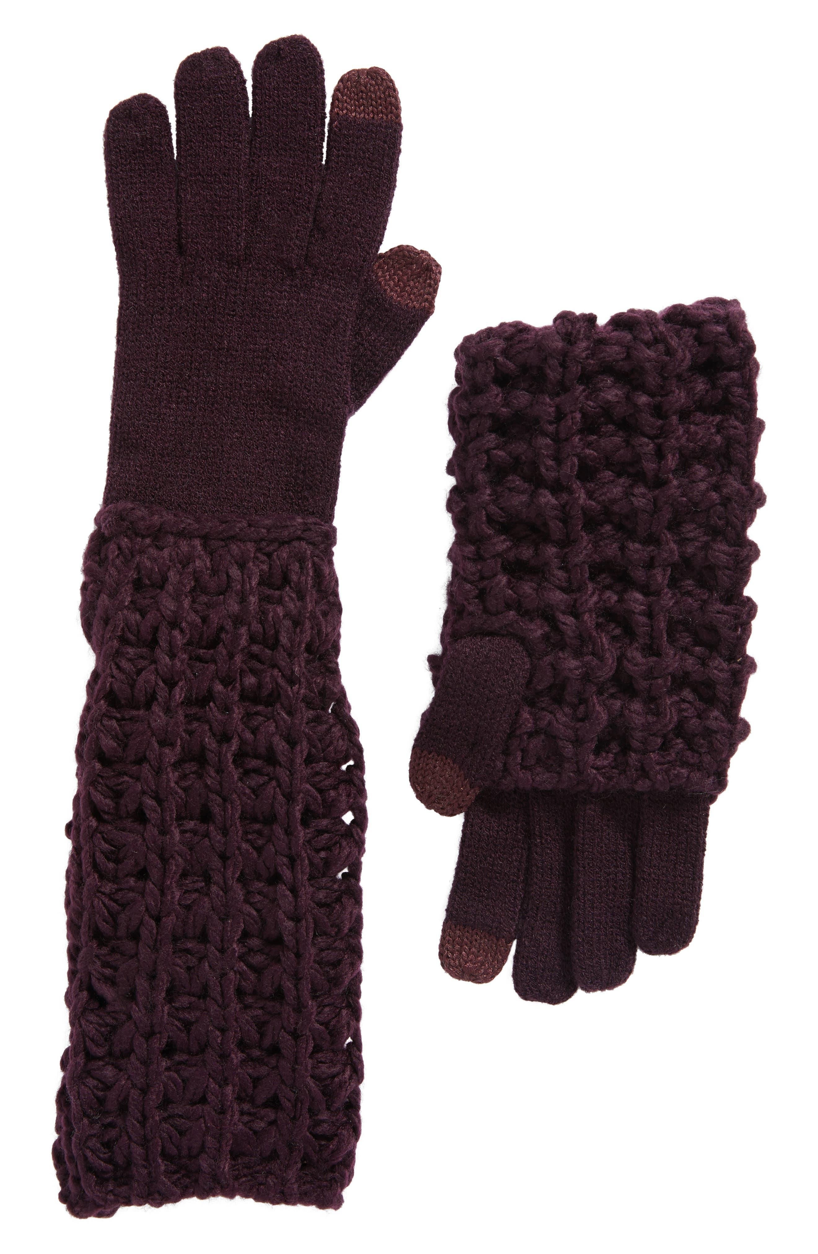 Chunky Tuck Gloves,                             Main thumbnail 3, color,