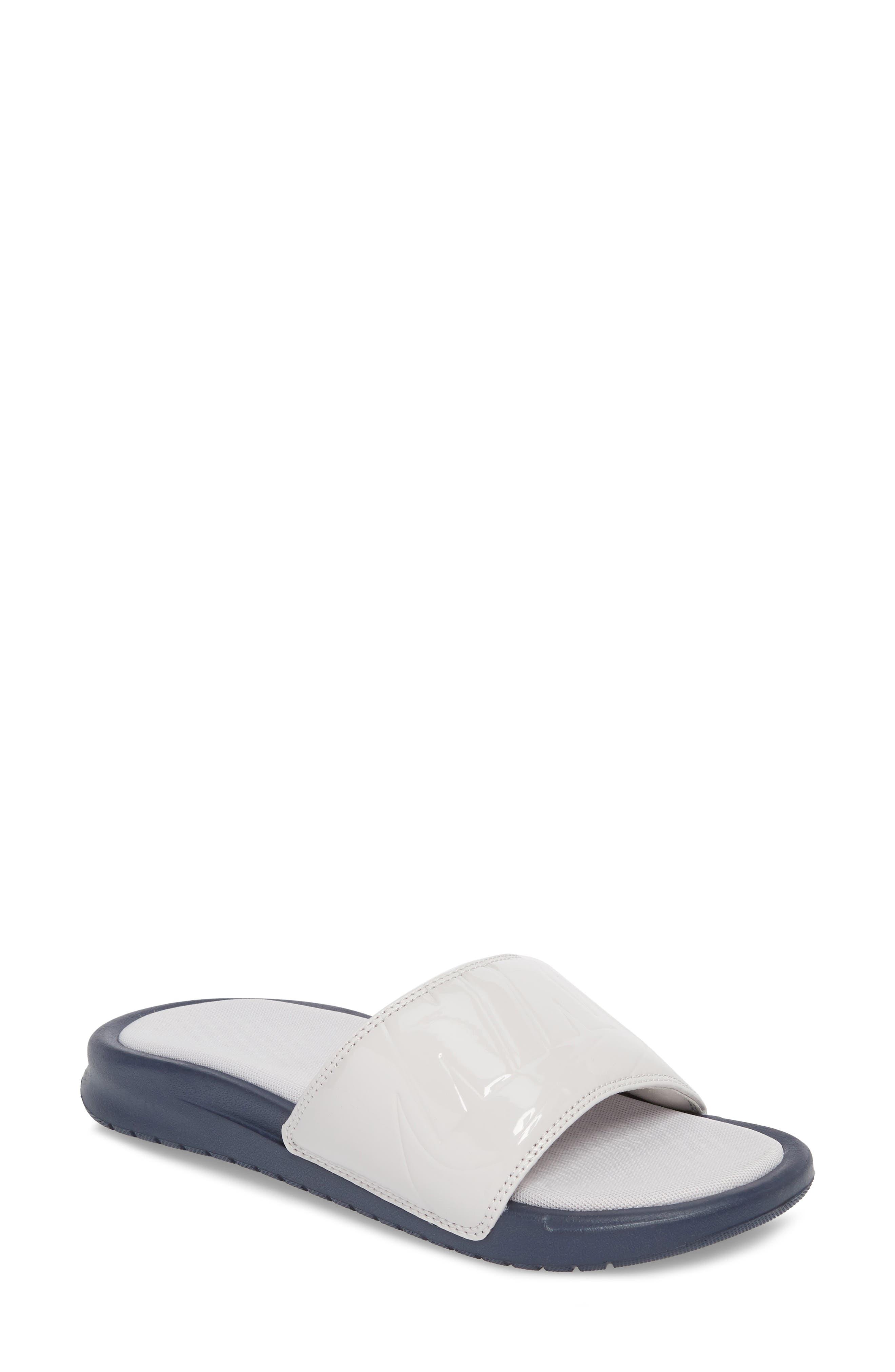 Benassi JDI Ultra Sport Slide,                         Main,                         color, VAST GREY/ VAST GREY/ OBSIDIAN