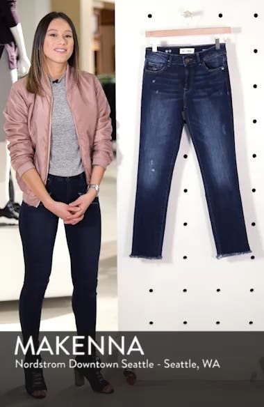 Mara Ankle Straight Leg Jeans, sales video thumbnail