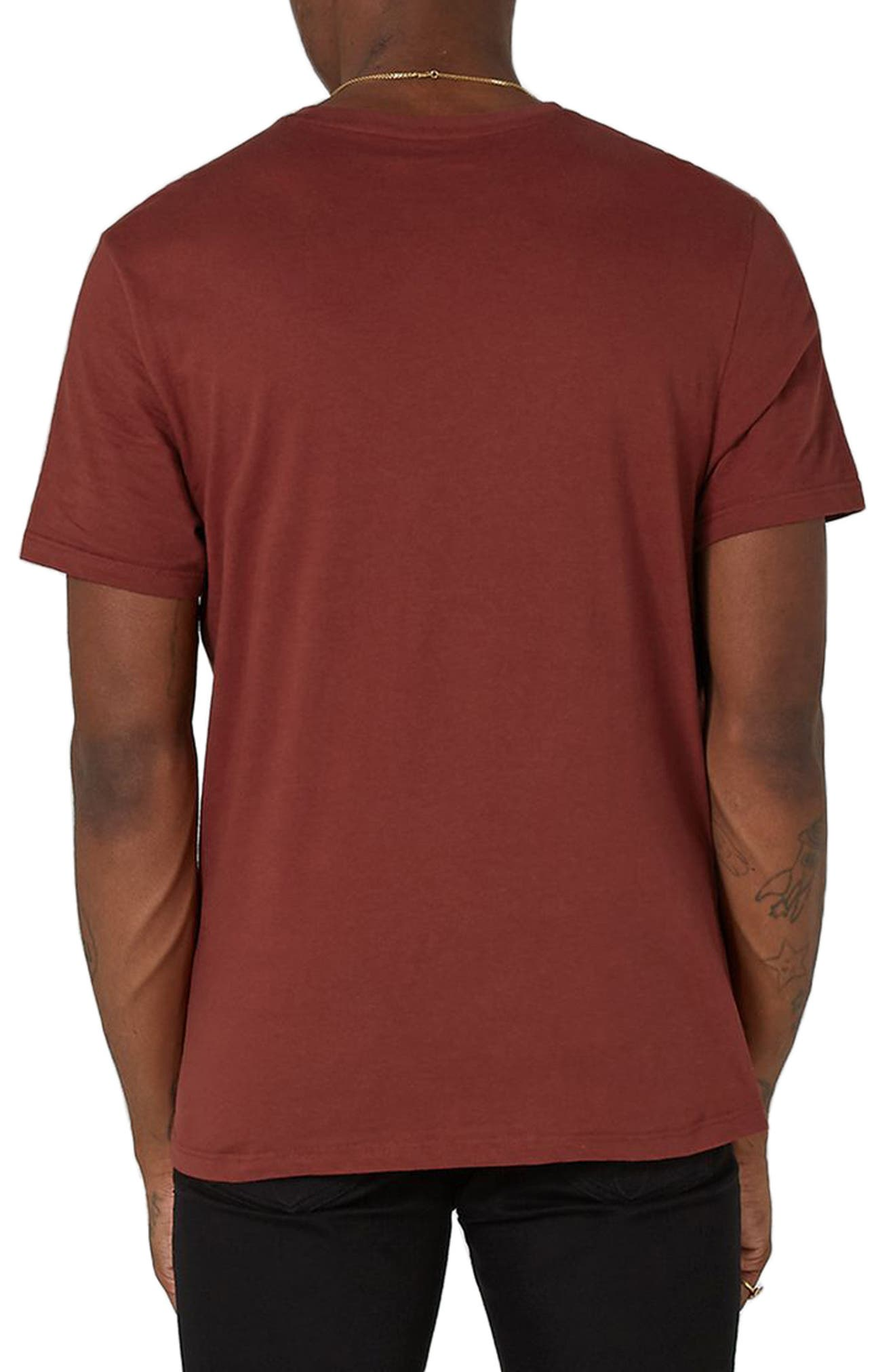 Slim Fit Crewneck T-Shirt,                             Alternate thumbnail 116, color,