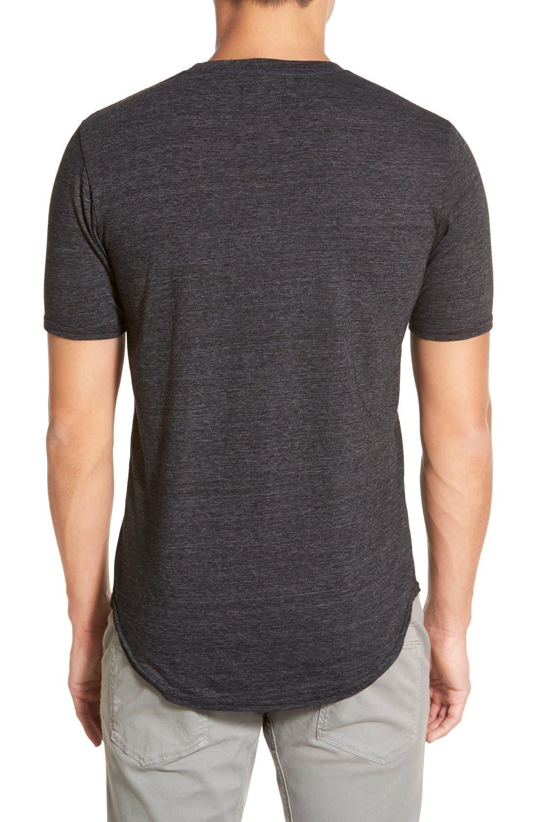 Scallop Triblend Crewneck T-Shirt,                             Alternate thumbnail 84, color,