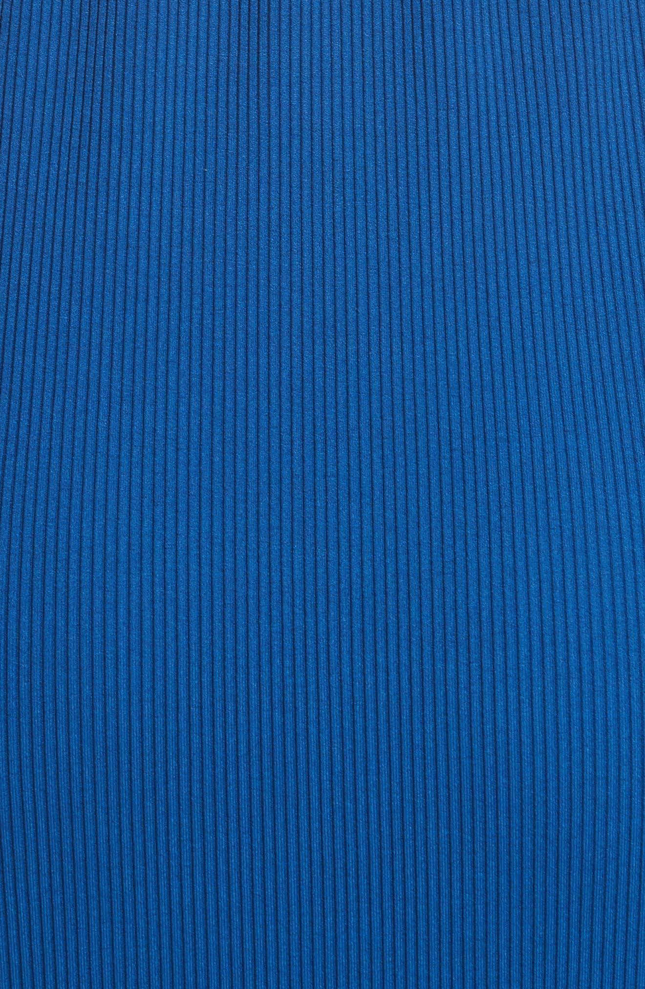 Diane von Furstenberg Ribbed Jersey Maxi Dress,                             Alternate thumbnail 5, color,                             412