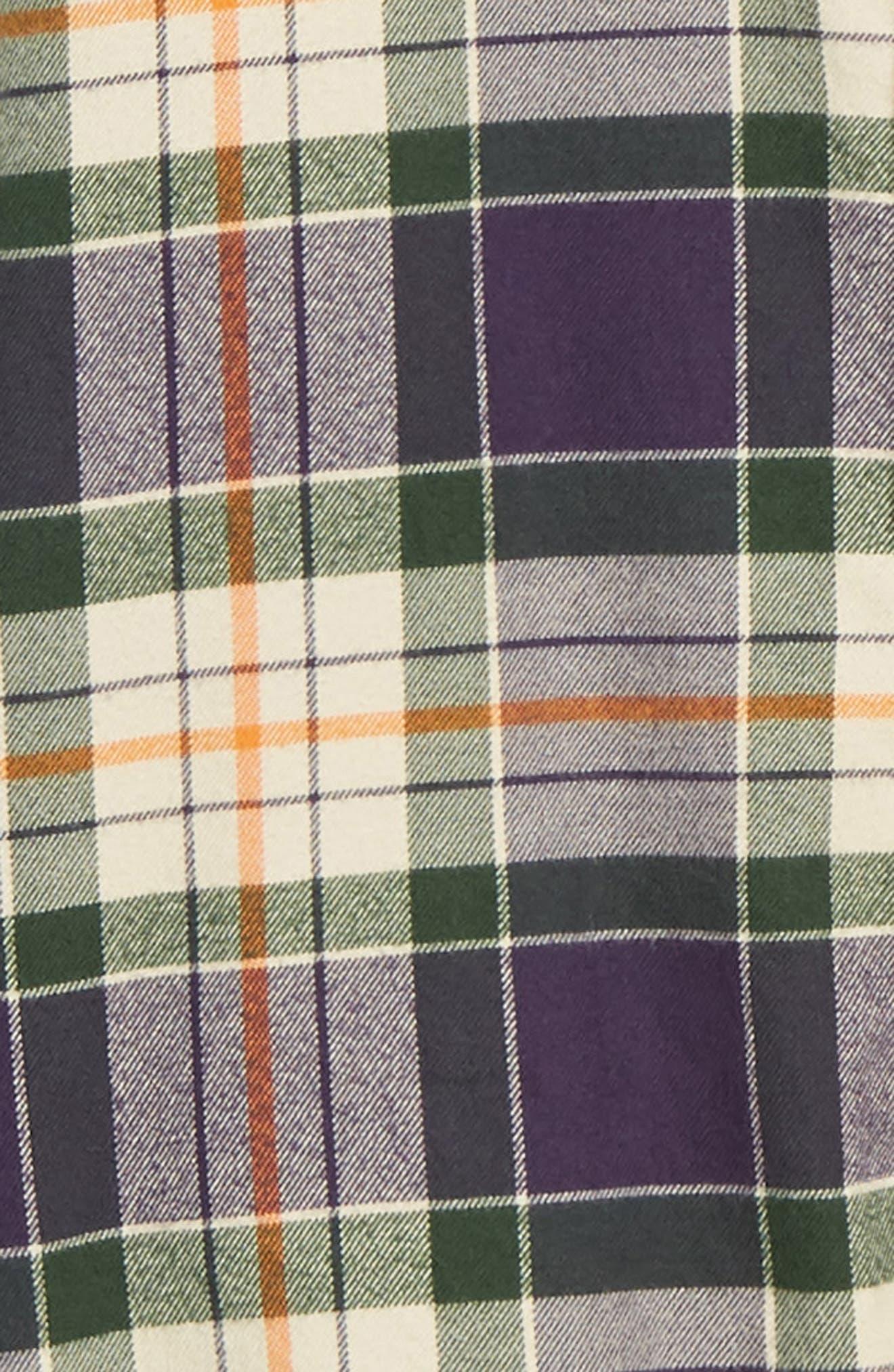 Ovavi Plaid Flannel Shirt,                             Alternate thumbnail 6, color,                             542