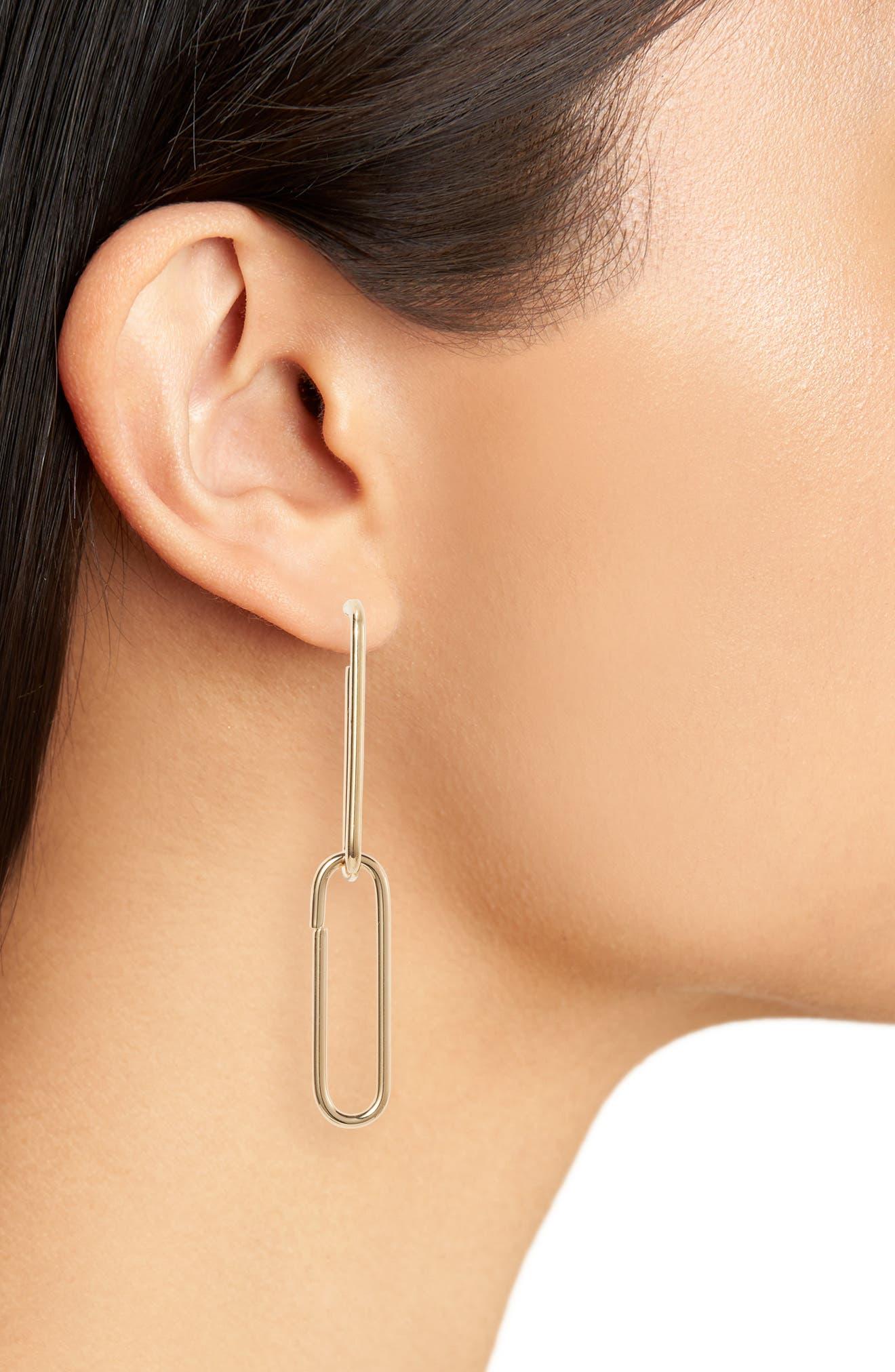 Evie Earrings,                             Alternate thumbnail 2, color,                             GOLD