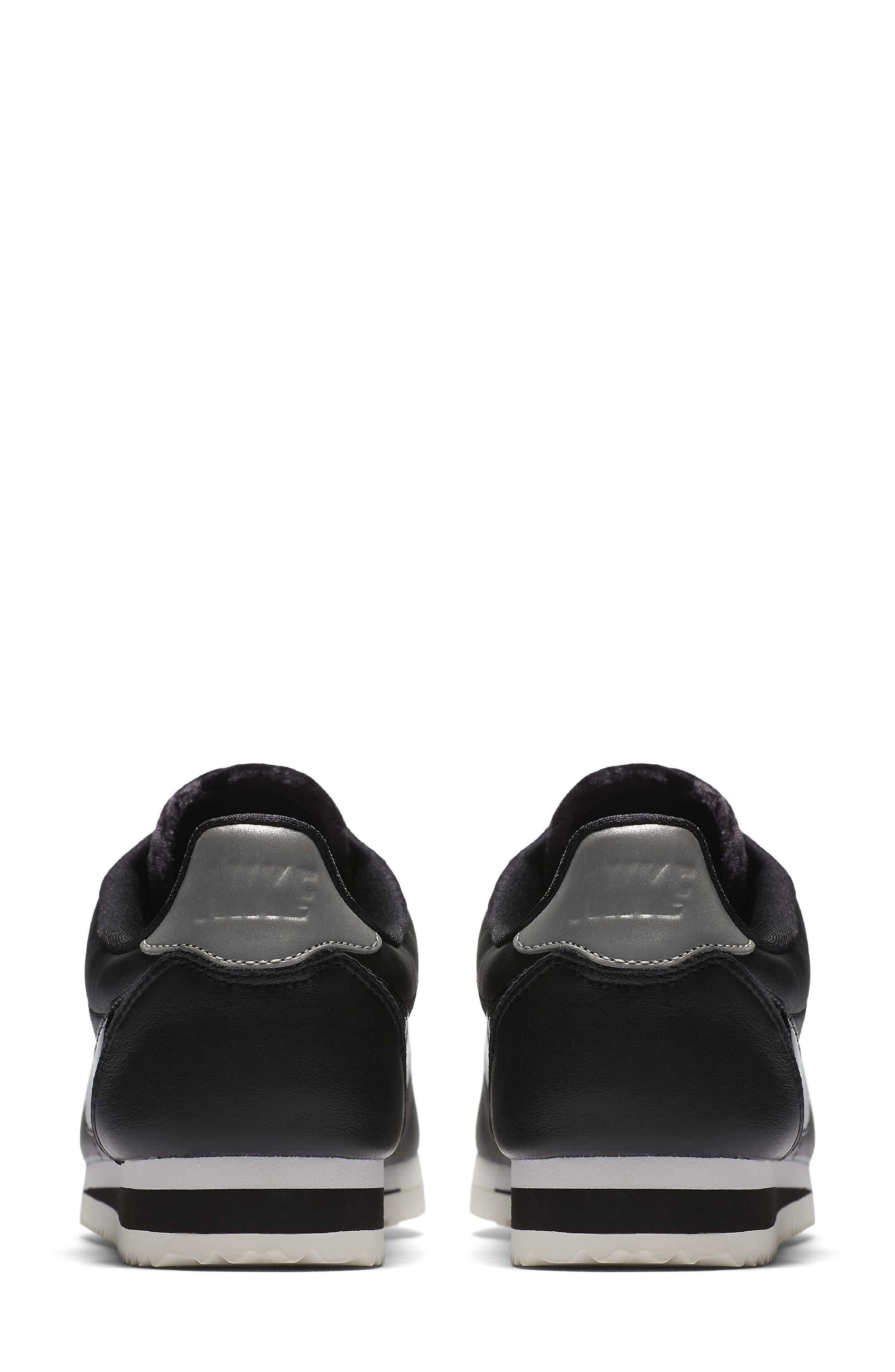 Classic Cortez SE Premium Sneaker,                             Alternate thumbnail 2, color,                             001