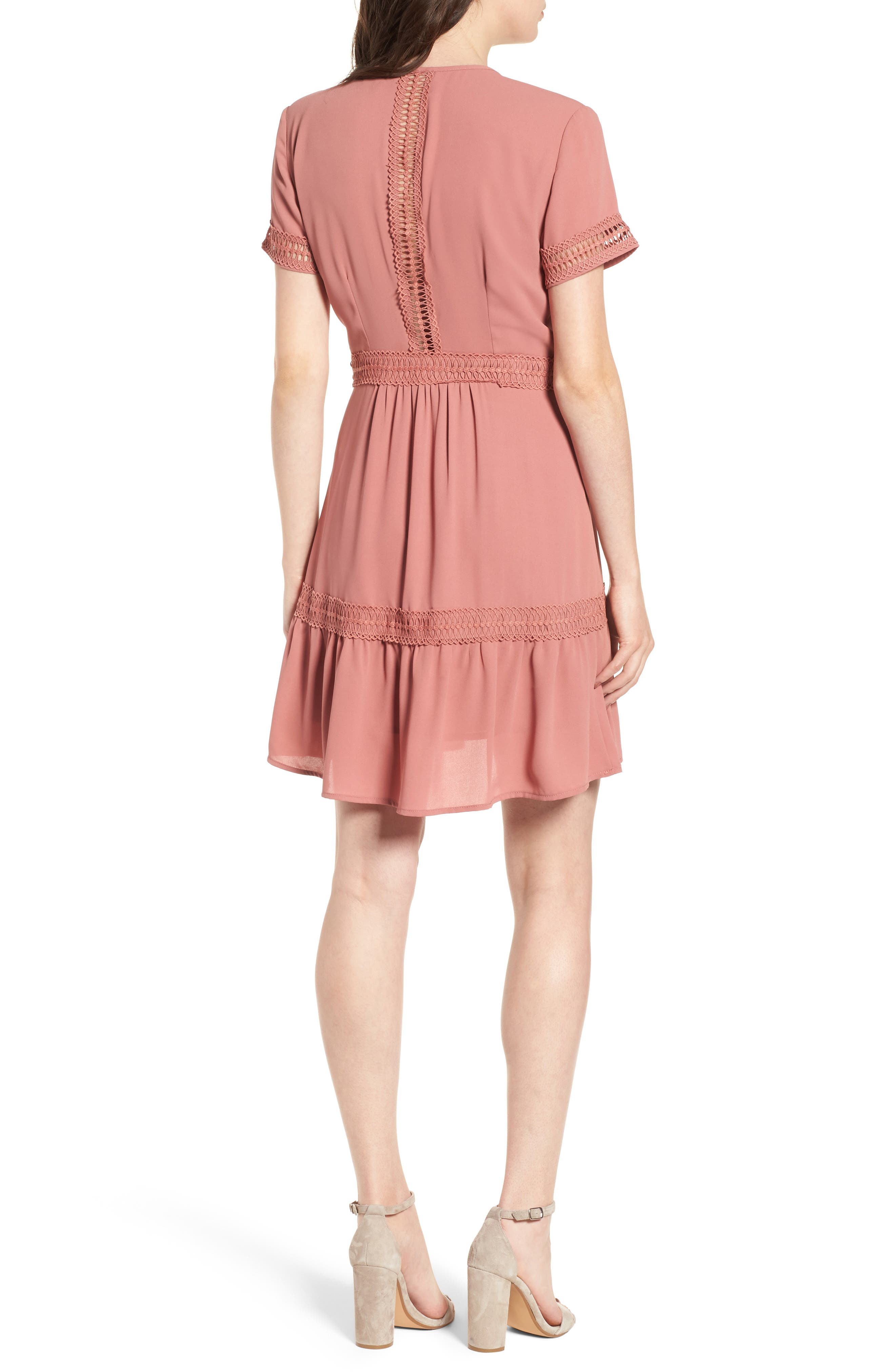 Take Hold Tiered Dress,                             Alternate thumbnail 4, color,