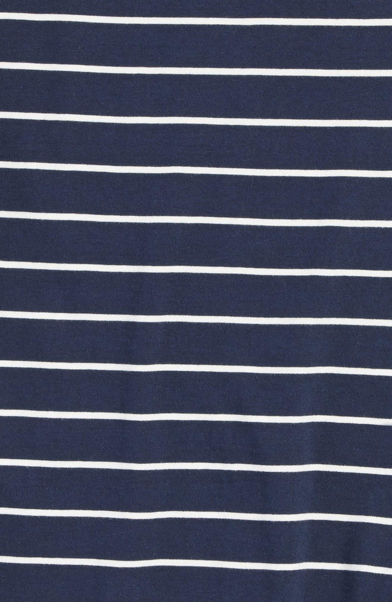 Milton Stripe Long Sleeve T-Shirt,                             Alternate thumbnail 4, color,