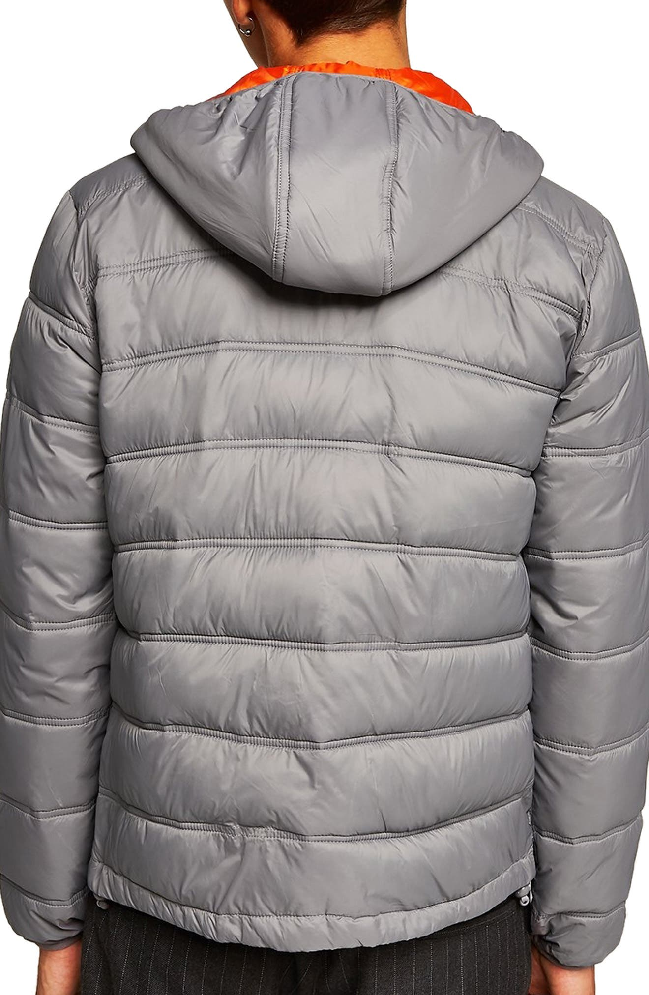 Terrain Classic Fit Quilted Jacket,                             Main thumbnail 1, color,                             LIGHT GREY