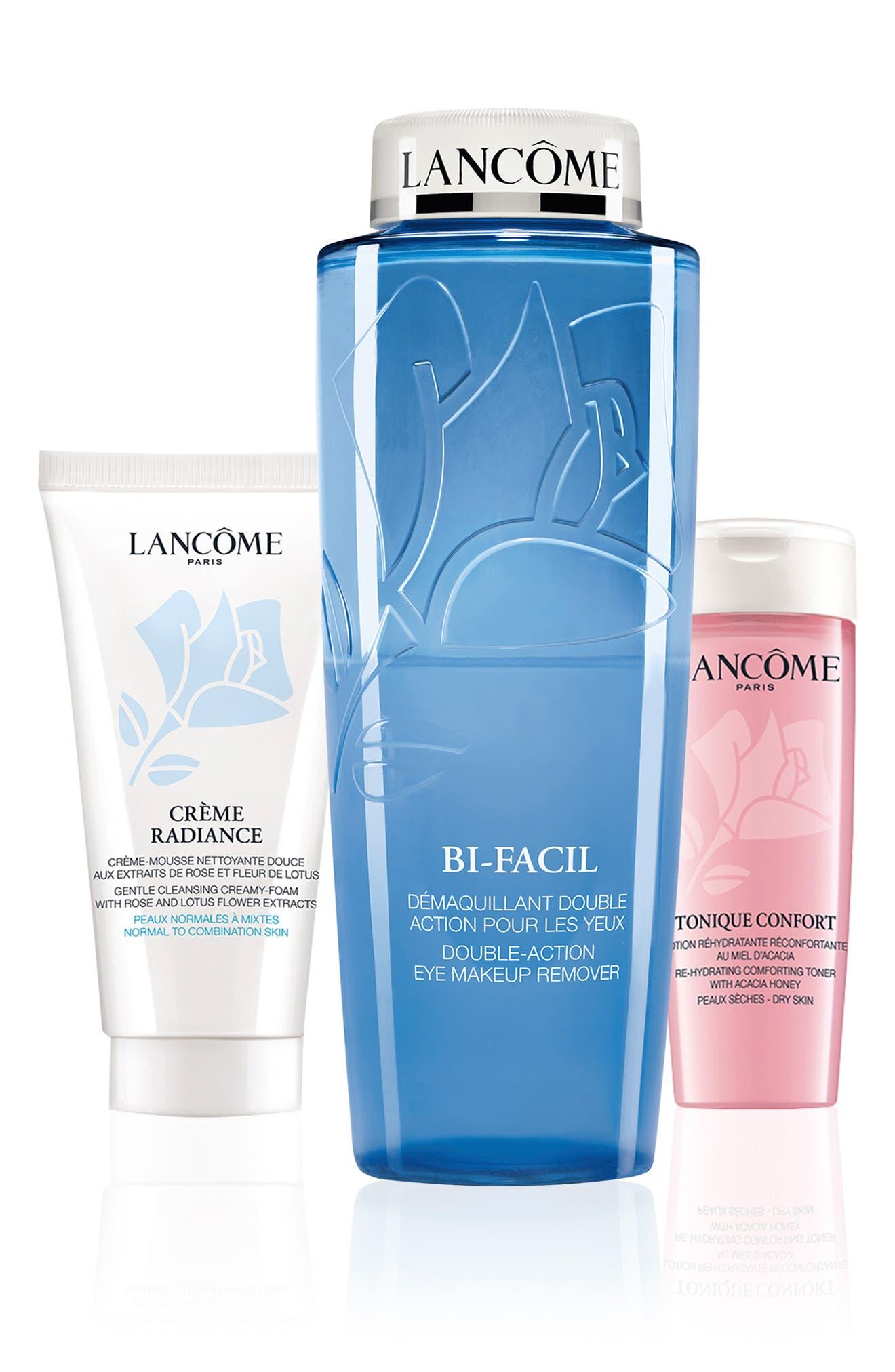 Lancome Bifacial Cleansing, Refreshing & Purifying Set