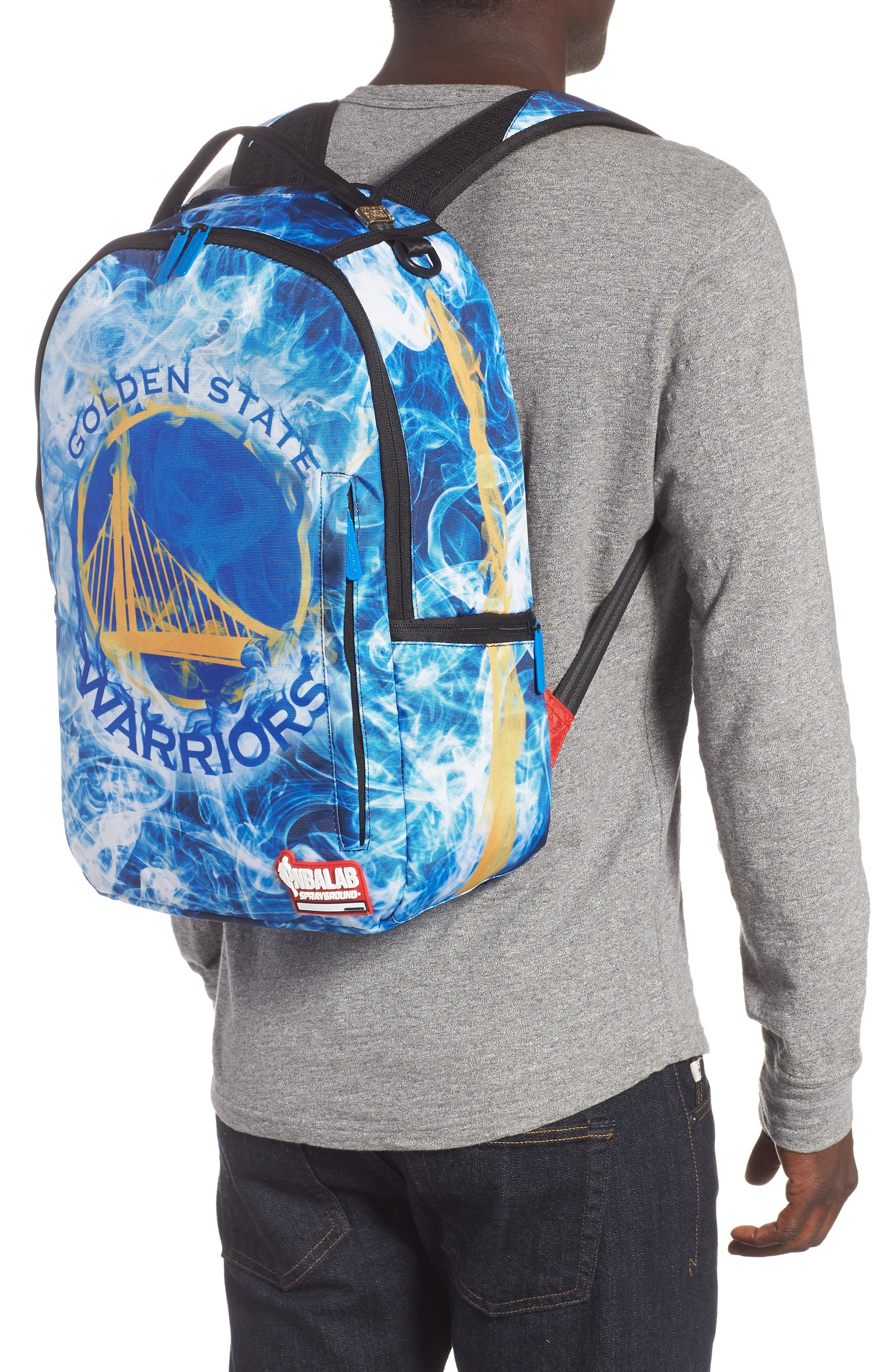Golden State Smoke Backpack,                             Alternate thumbnail 2, color,                             BLUE