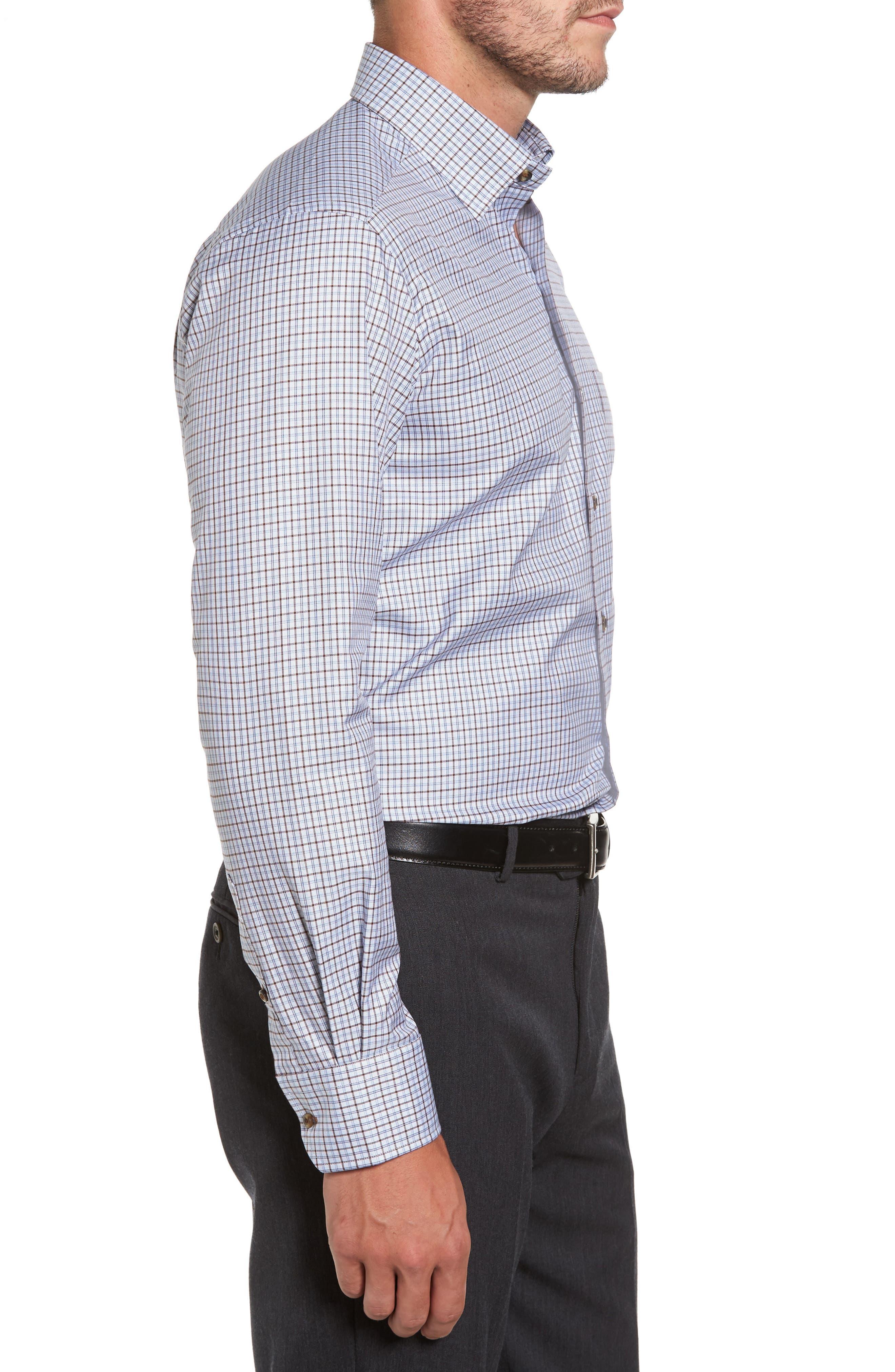Plaid Regular Fit Sport Shirt,                             Alternate thumbnail 3, color,                             212