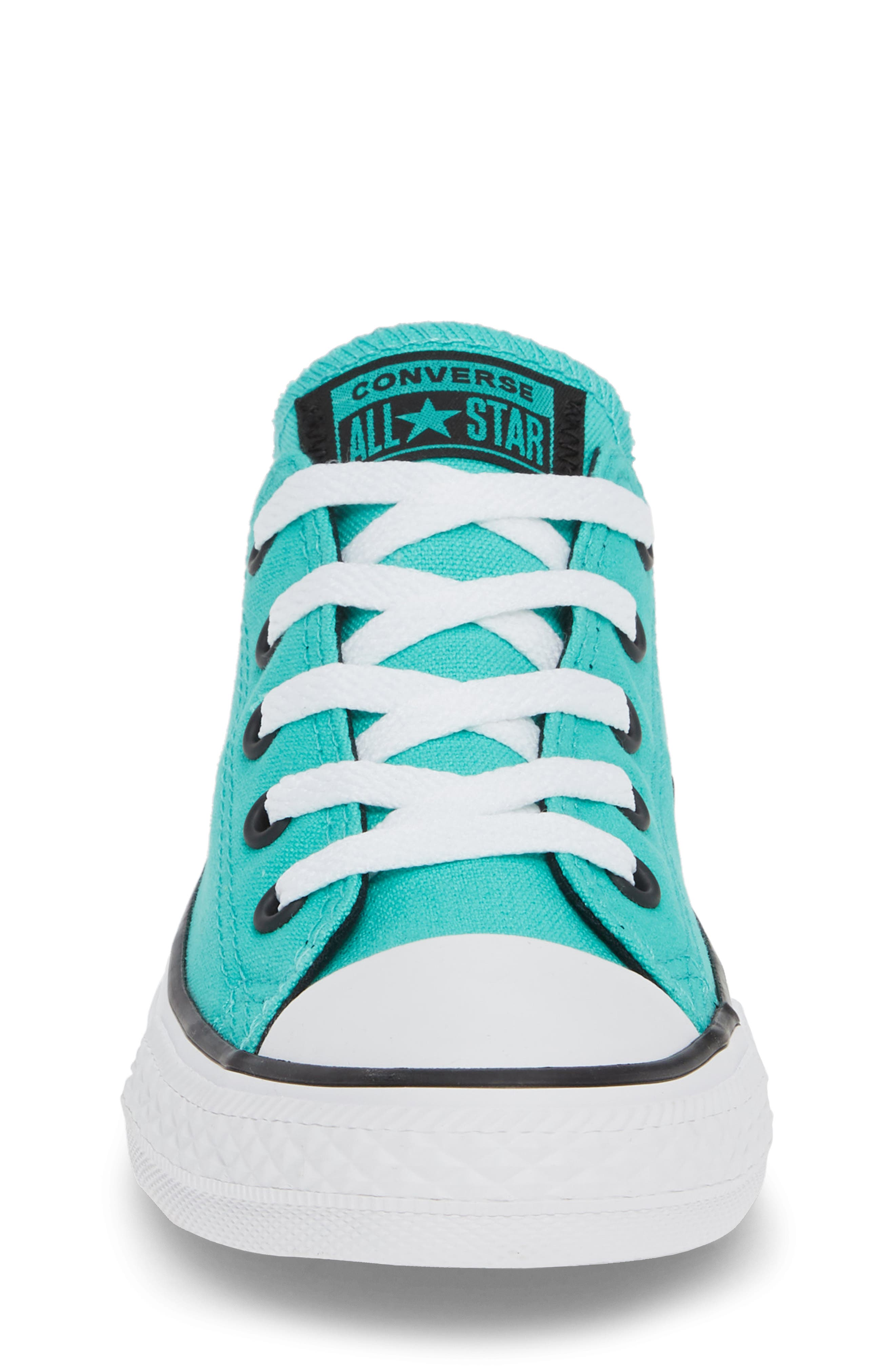 Chuck Taylor<sup>®</sup> Sneaker,                             Alternate thumbnail 4, color,                             PURE TEAL