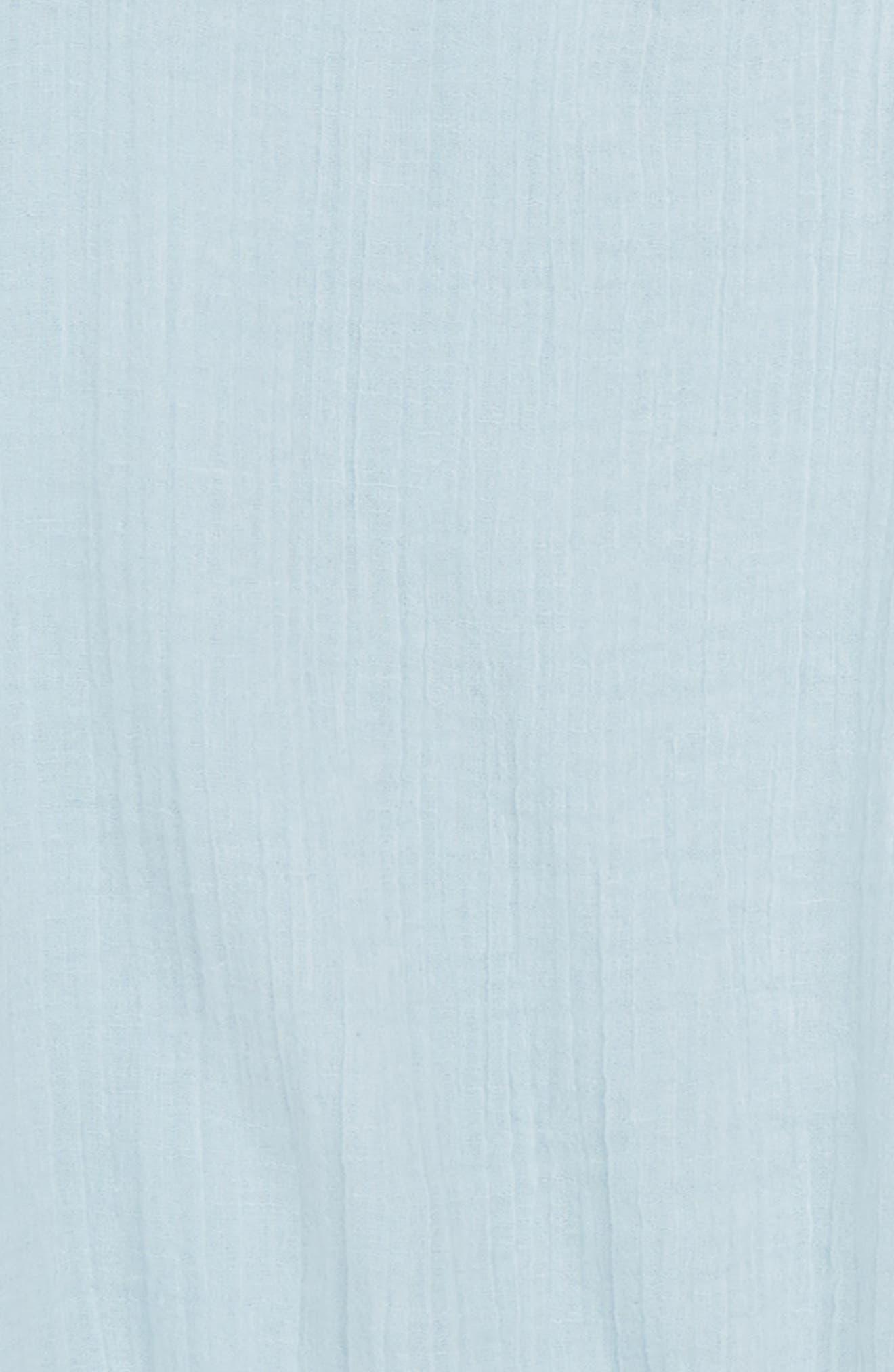 Ruffle Sleeve Crepe Top,                             Alternate thumbnail 2, color,                             450
