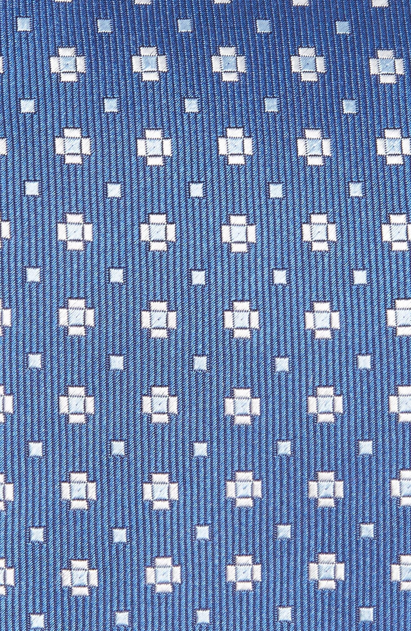 Geometric Silk Tie,                             Alternate thumbnail 2, color,                             400